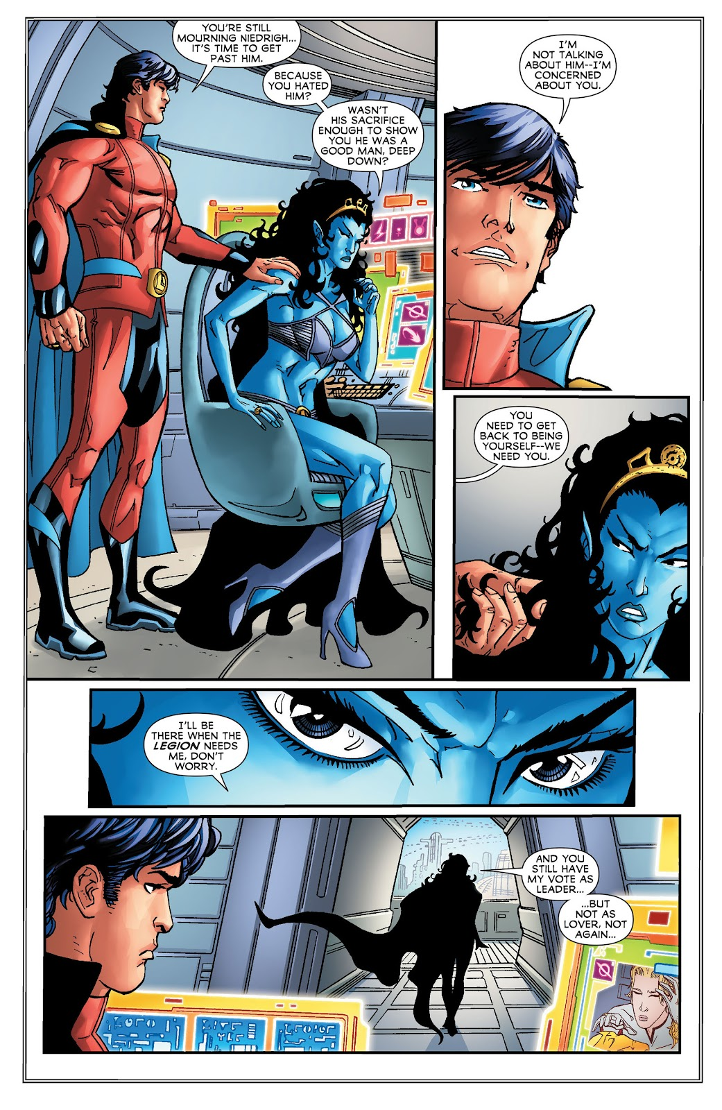 Legion of Super-Heroes (2011) Issue #16 #17 - English 12