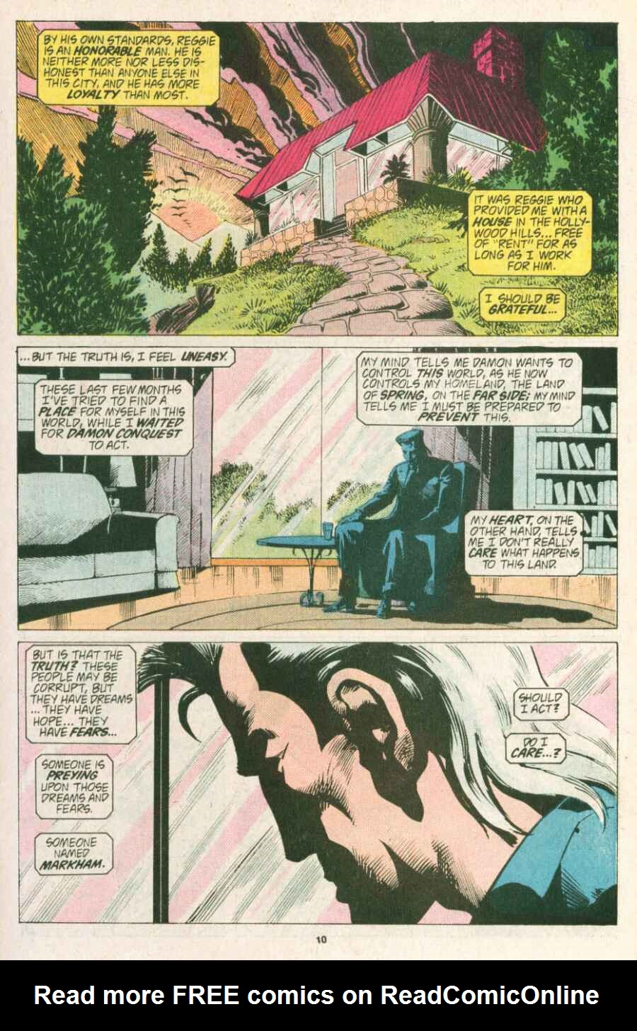 Read online Justice (1986) comic -  Issue #13 - 11