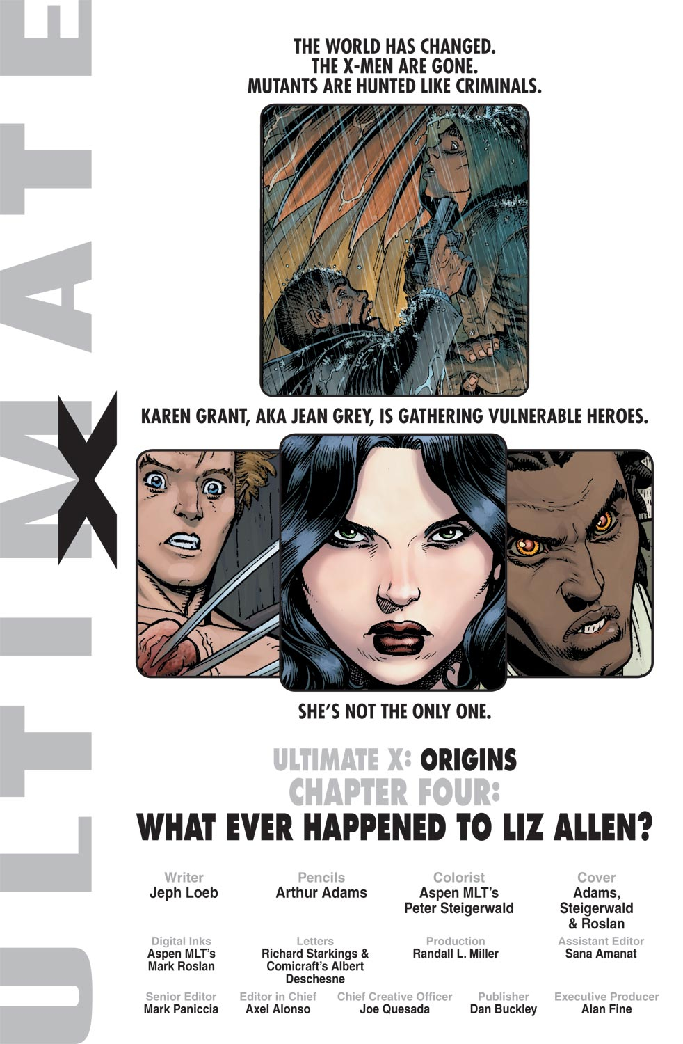Read online Ultimate X comic -  Issue #4 - 2