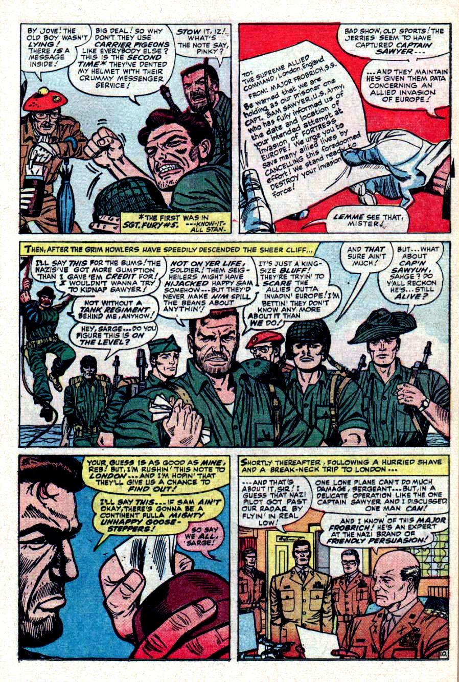 Read online Sgt. Fury comic -  Issue #31 - 15