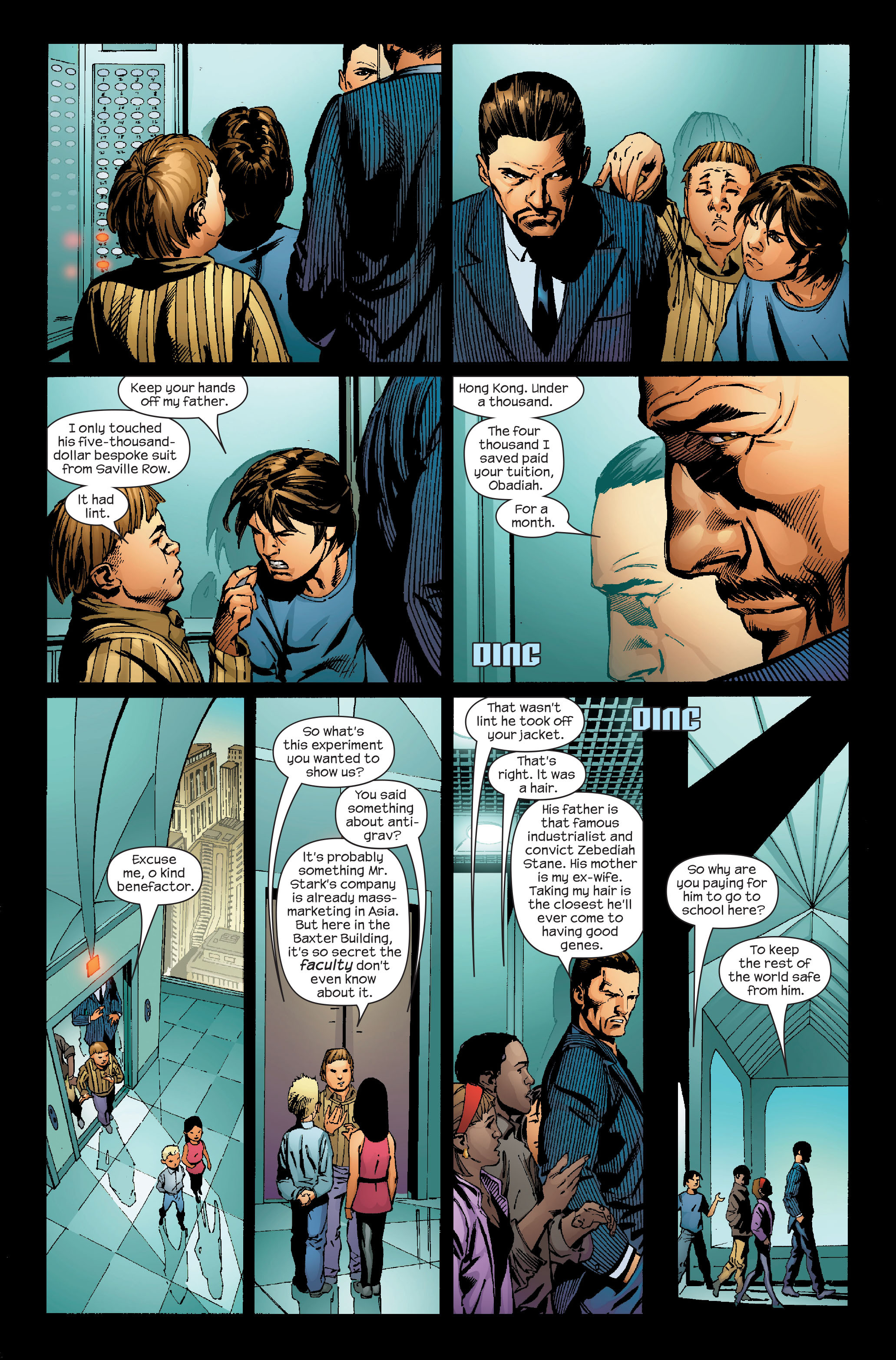 Read online Ultimate Iron Man (2005) comic -  Issue #4 - 18