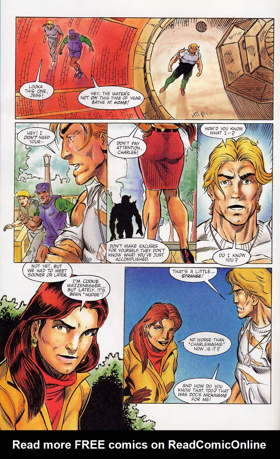 Read online Charlemagne comic -  Issue #4 - 3