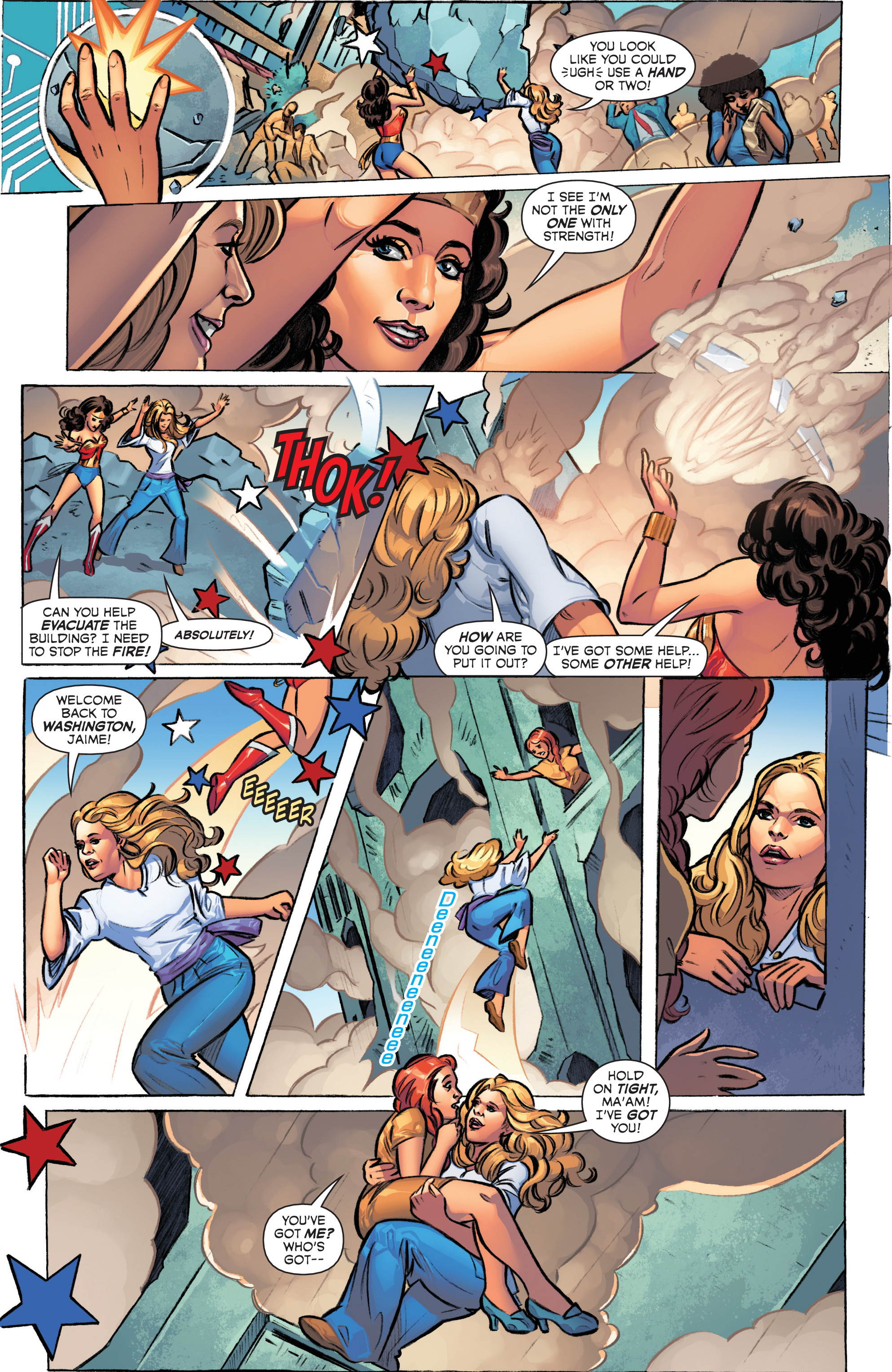 Read online Wonder Woman '77 Meets The Bionic Woman comic -  Issue #1 - 7