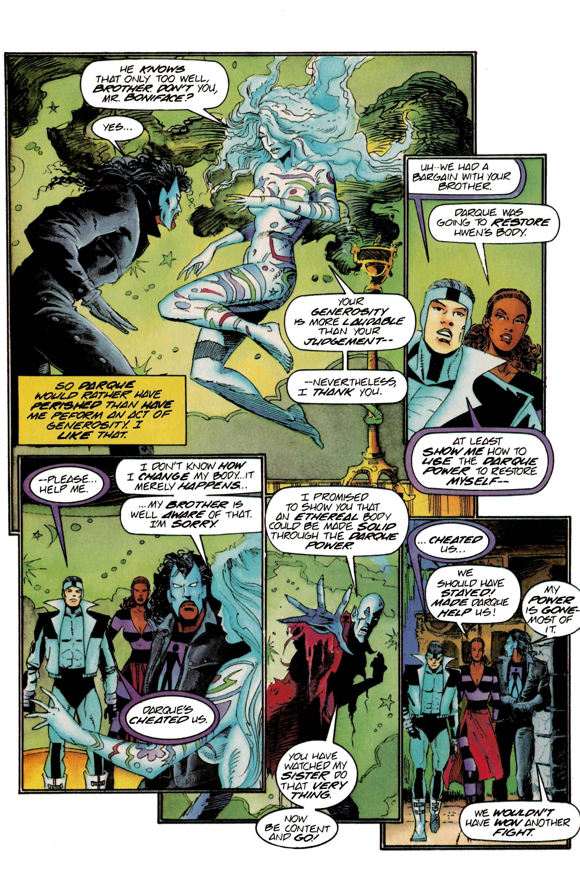 Read online Shadowman (1992) comic -  Issue #23 - 20