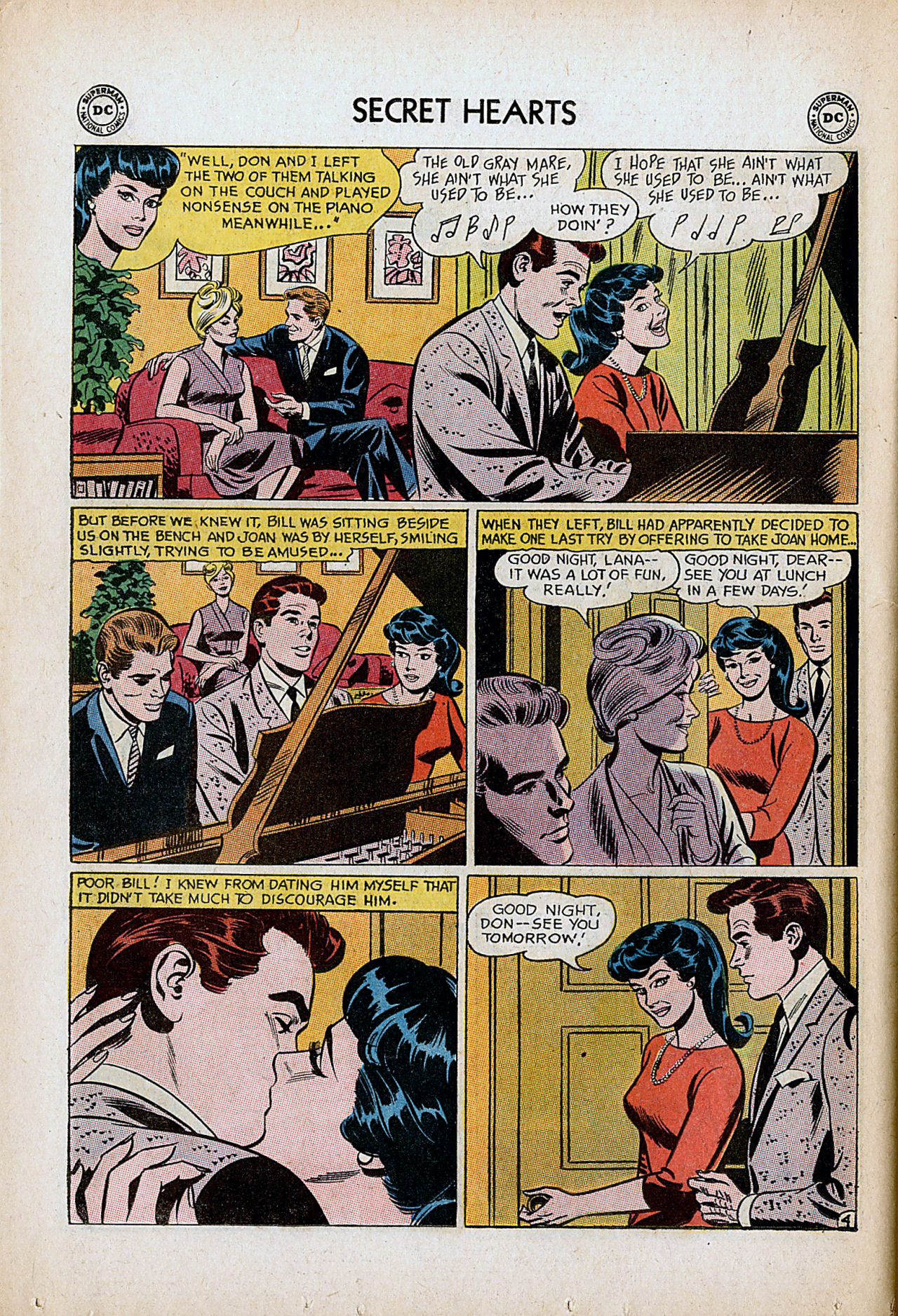 Read online Secret Hearts comic -  Issue #86 - 30