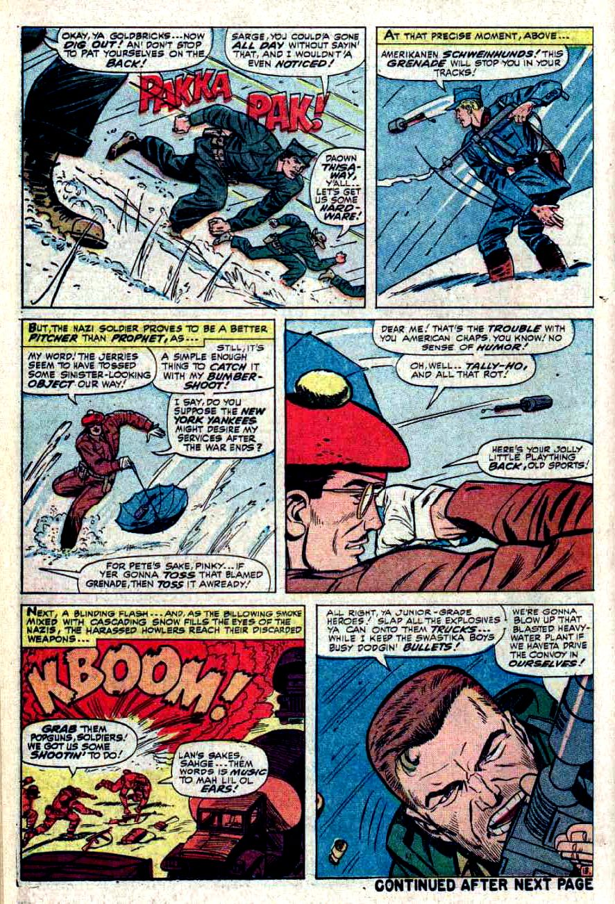 Read online Sgt. Fury comic -  Issue #32 - 18