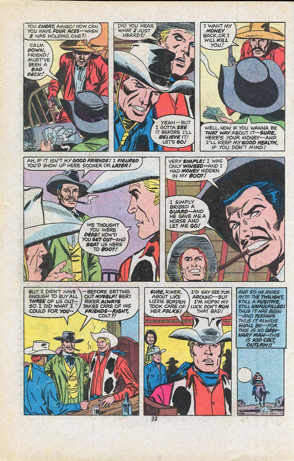 Kid Colt Outlaw issue 201 - Page 34