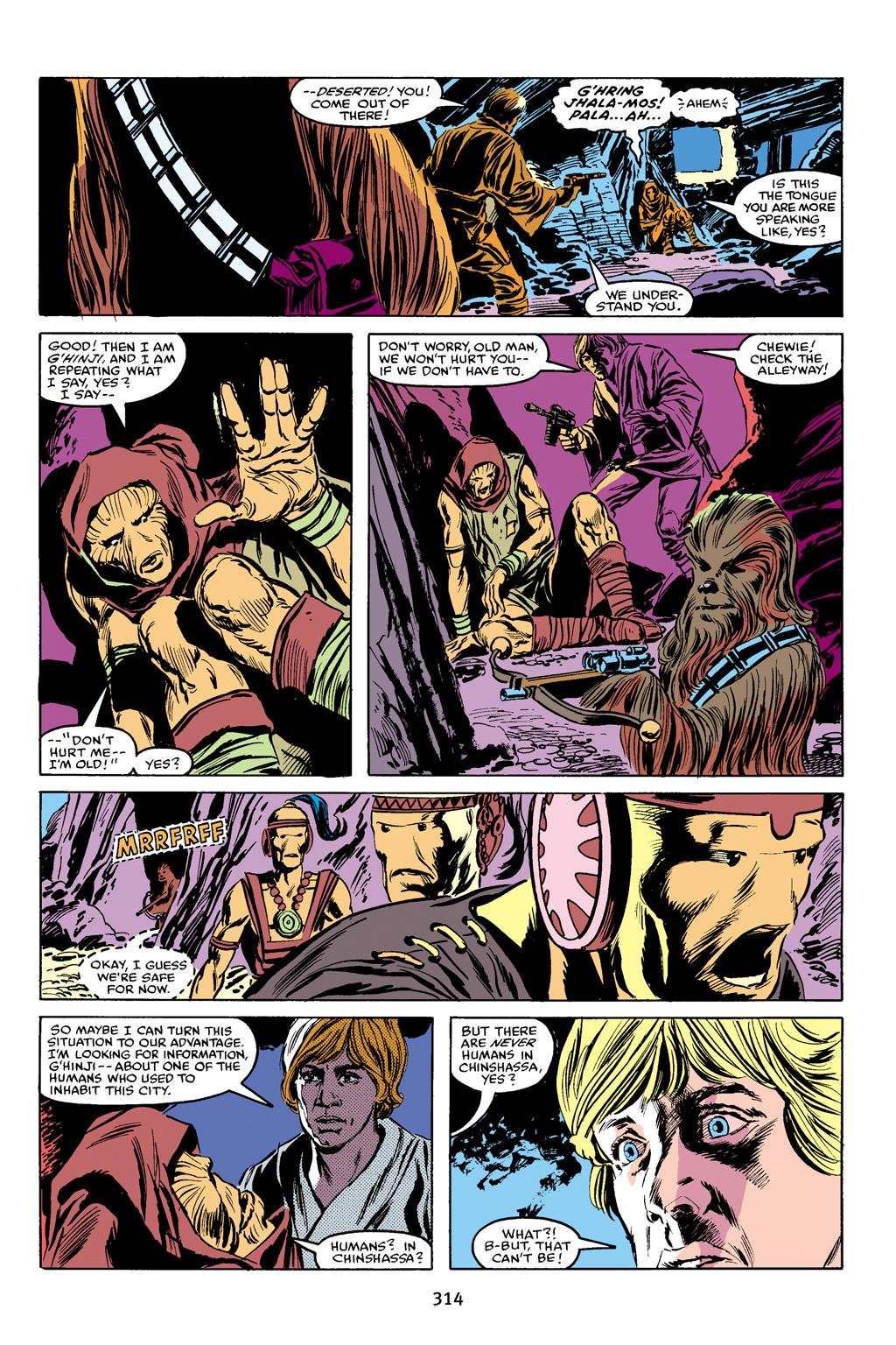 Read online Star Wars Omnibus comic -  Issue # Vol. 16 - 309