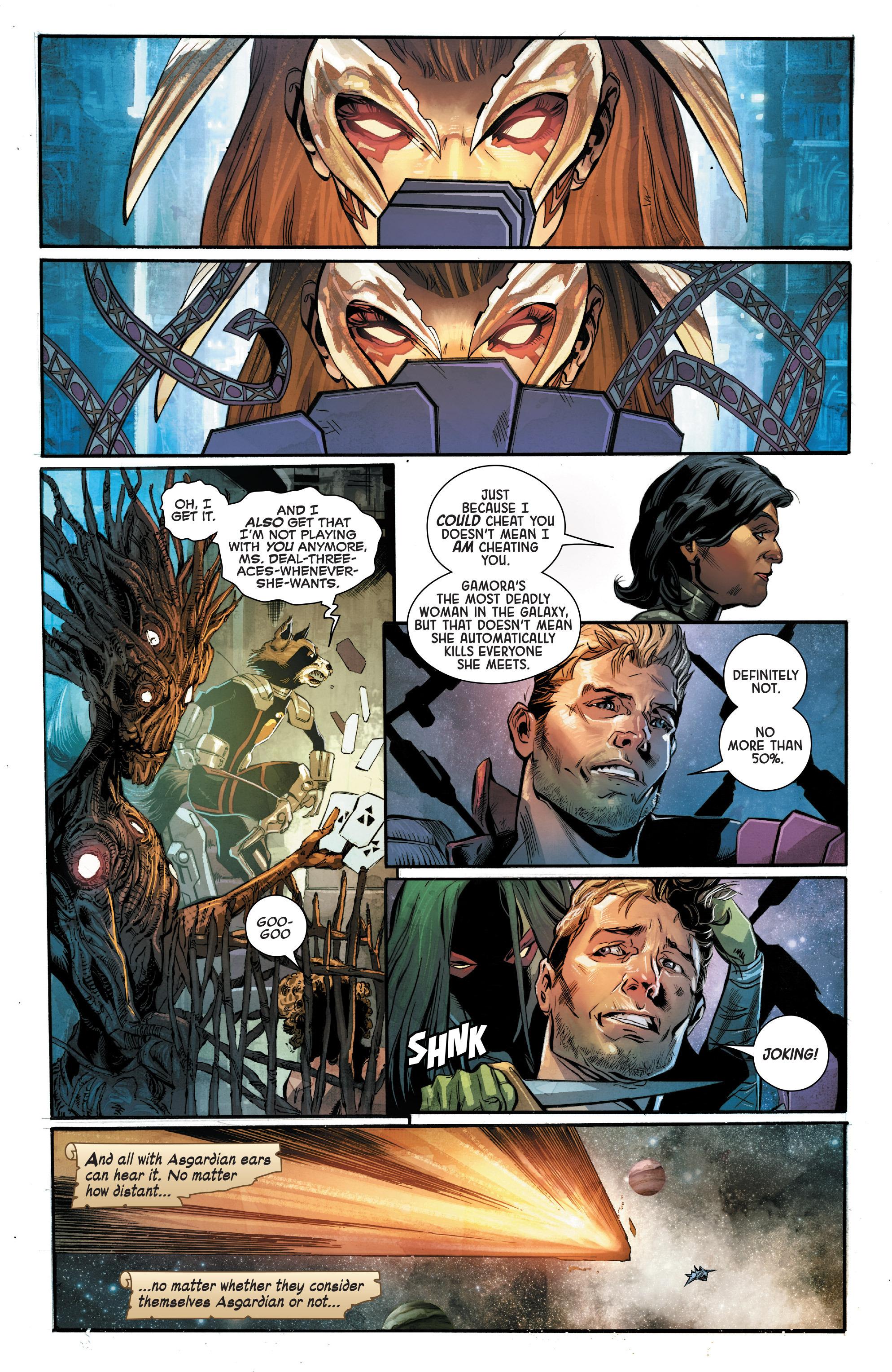 Read online Angela: Asgard's Assassin comic -  Issue #4 - 5