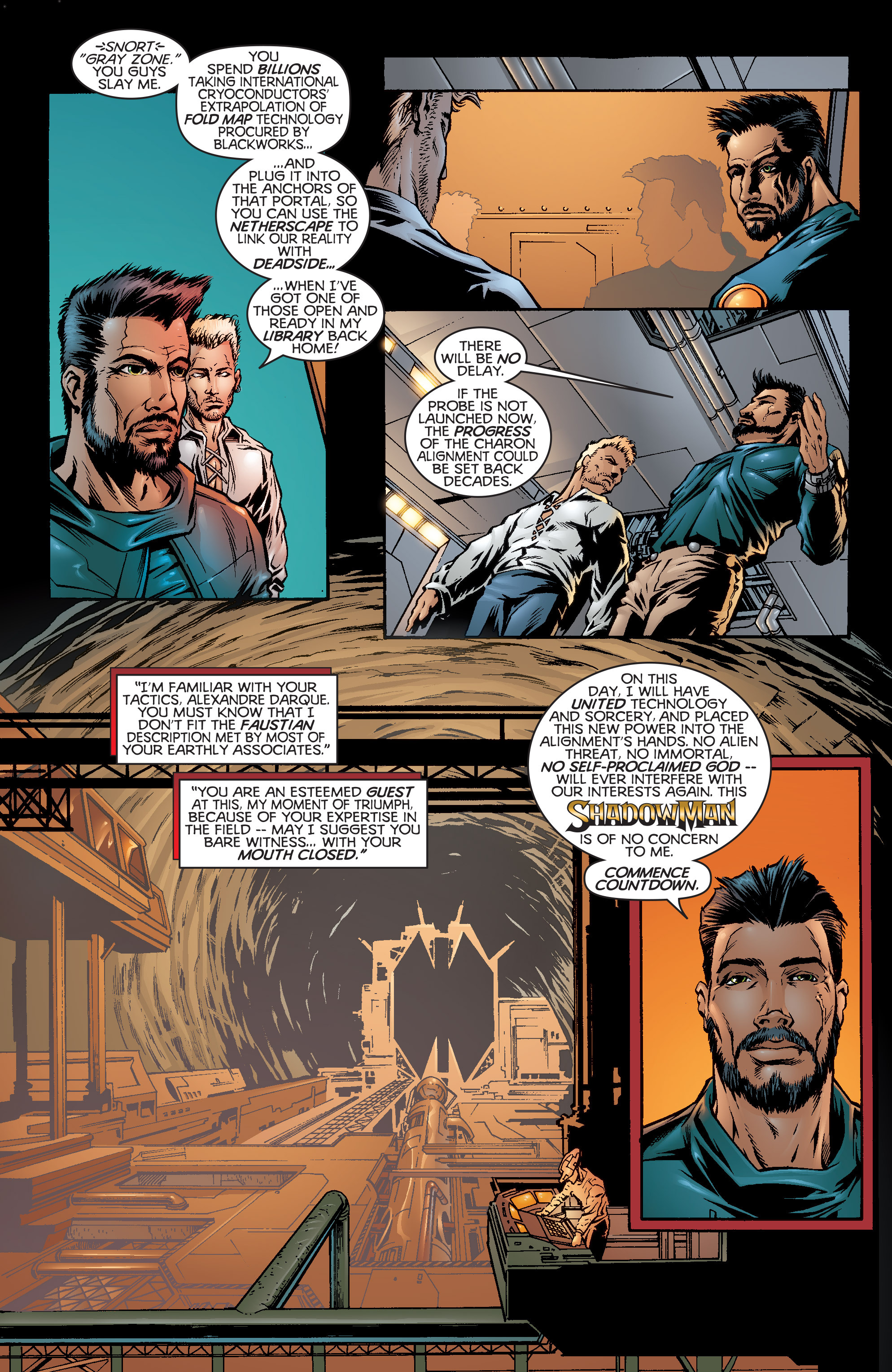 Read online Shadowman (1997) comic -  Issue #20 - 3
