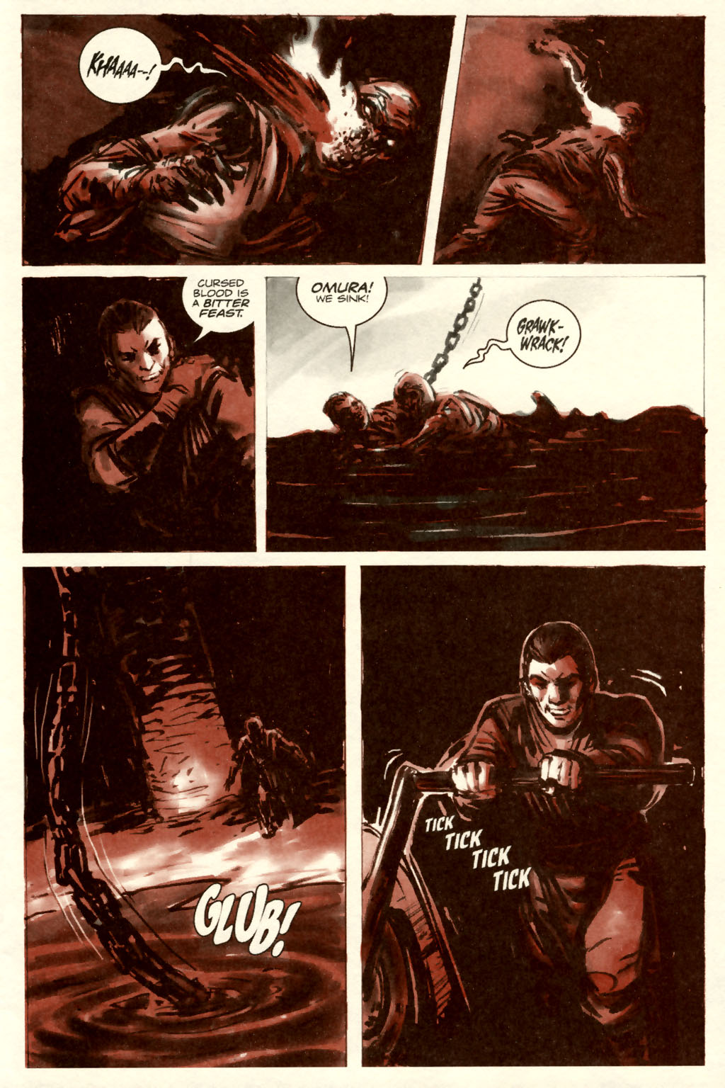 Read online Sea of Red comic -  Issue #5 - 23
