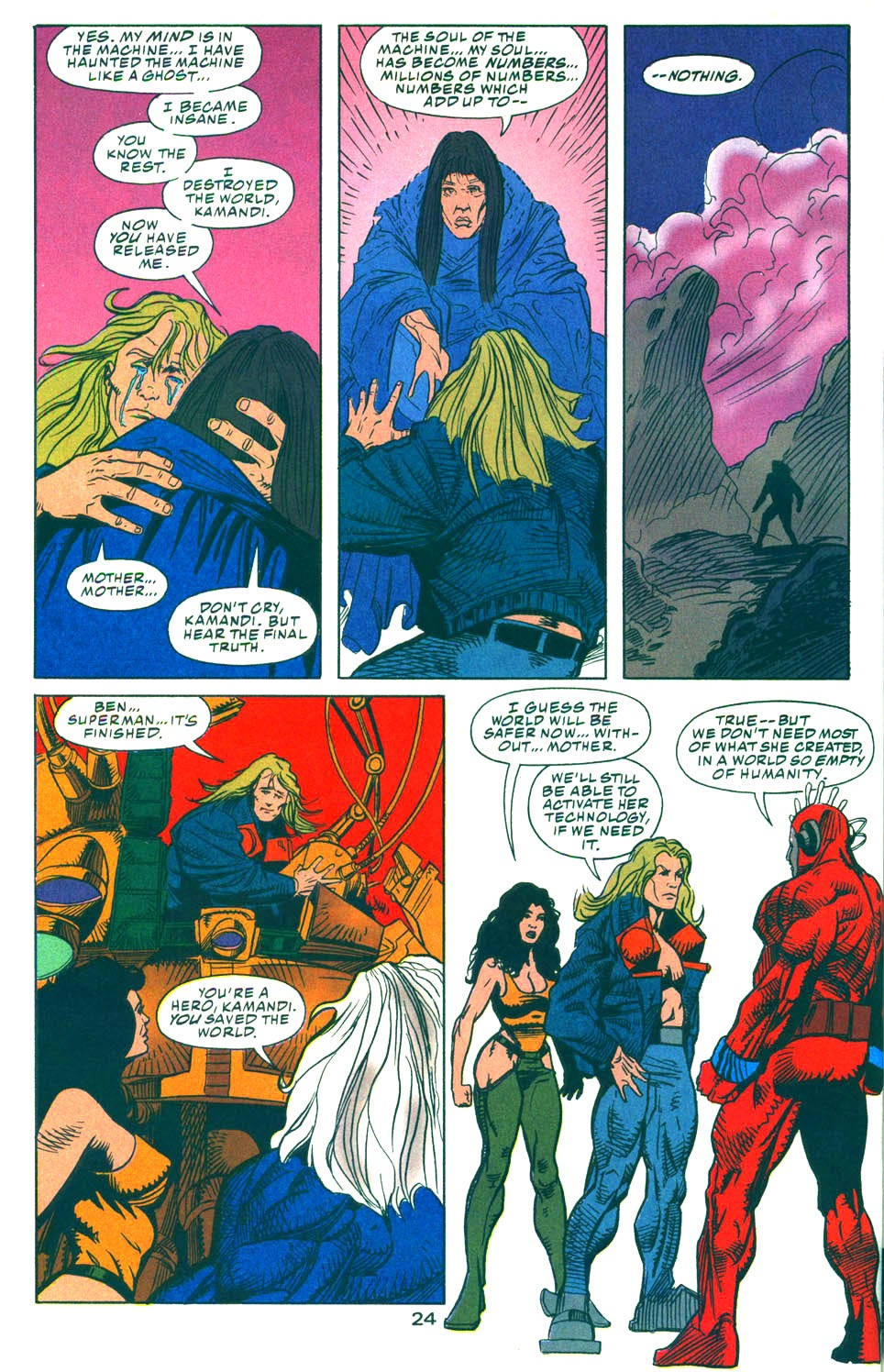 Read online Kamandi: At Earth's End comic -  Issue #6 - 25