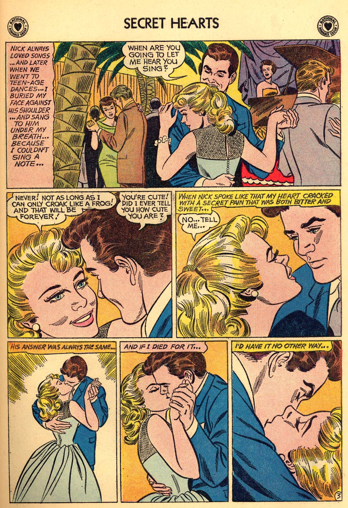 Read online Secret Hearts comic -  Issue #66 - 29