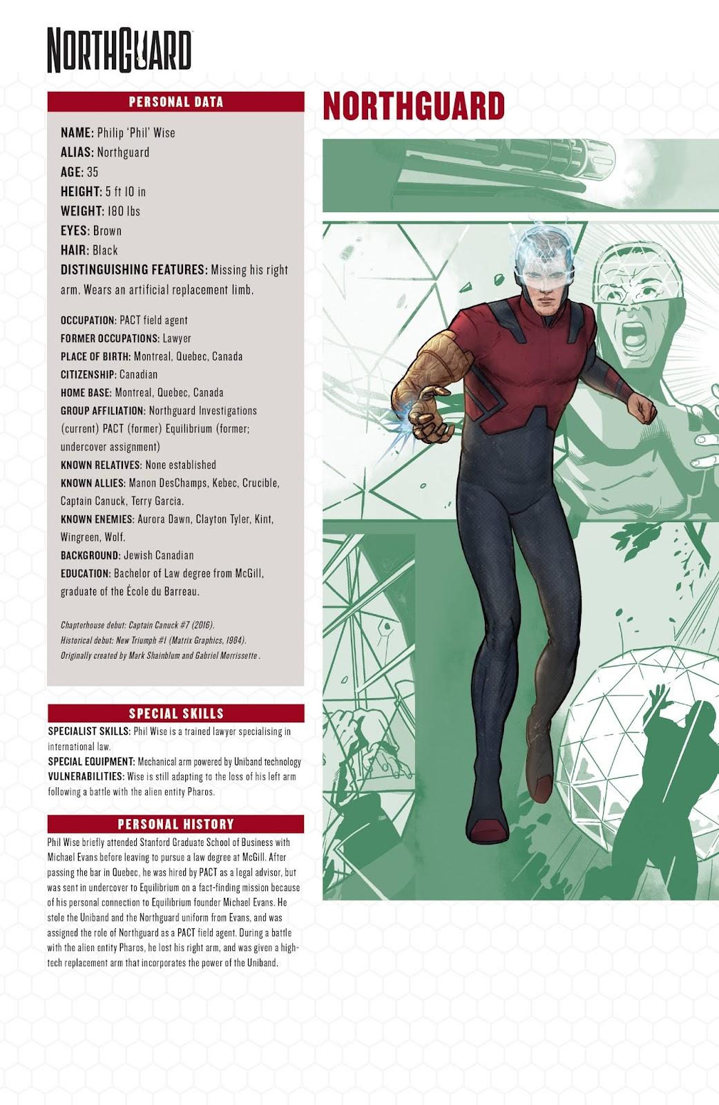 Captain Canuck: Invasion (Canada Day 2018) issue Full - Page 24