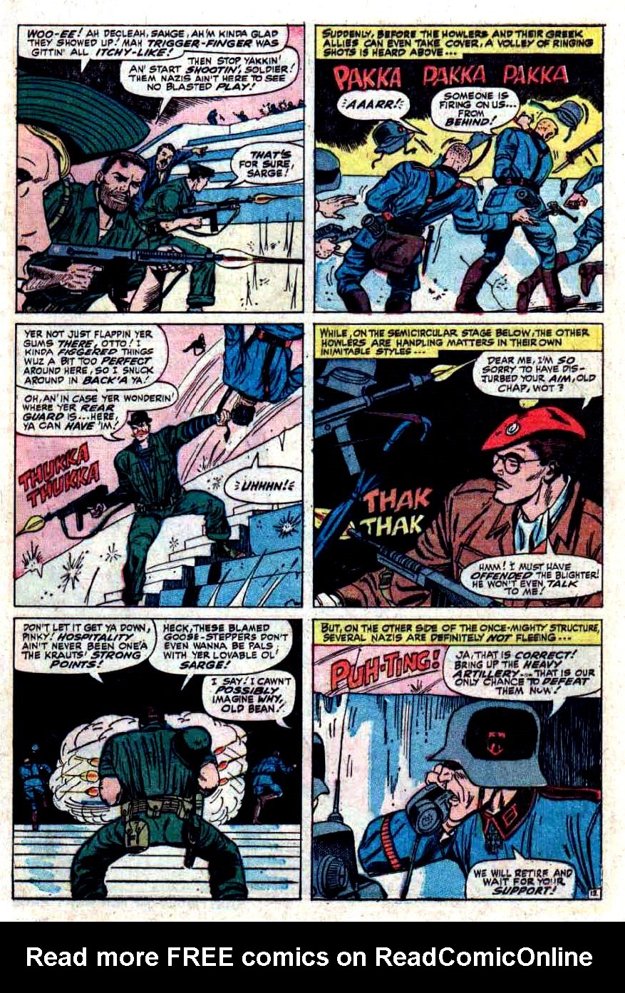 Read online Sgt. Fury comic -  Issue #33 - 17