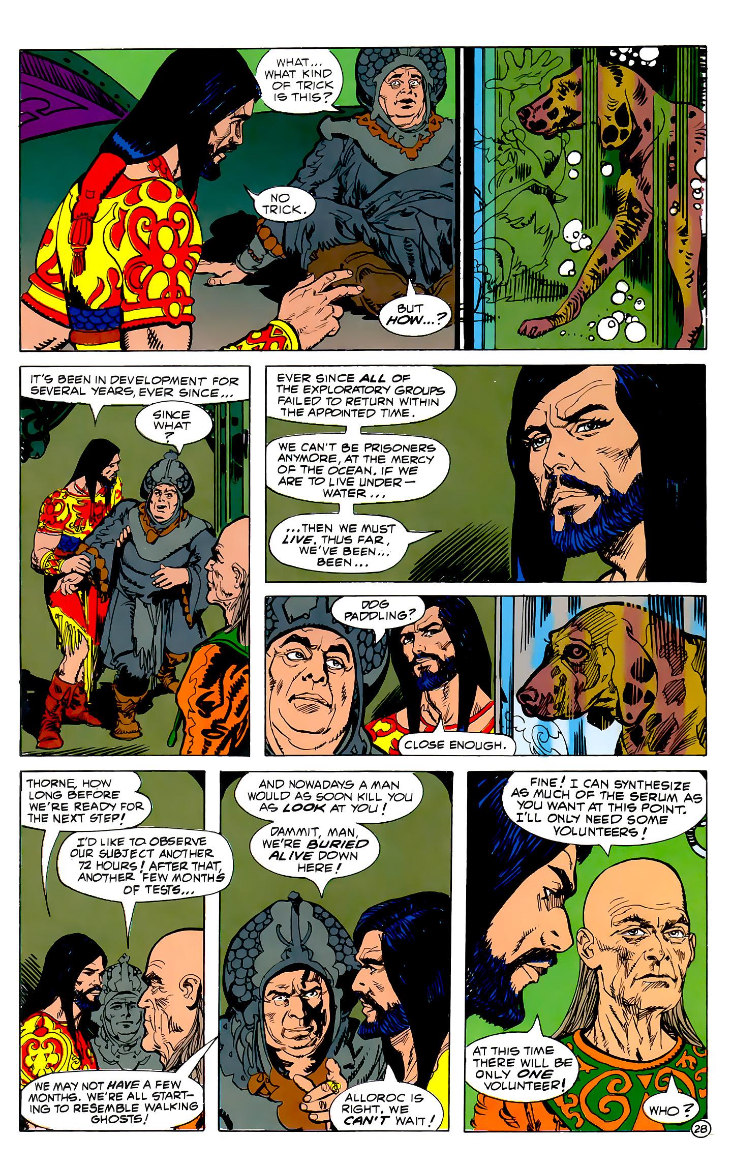 Read online Atlantis Chronicles comic -  Issue #2 - 28