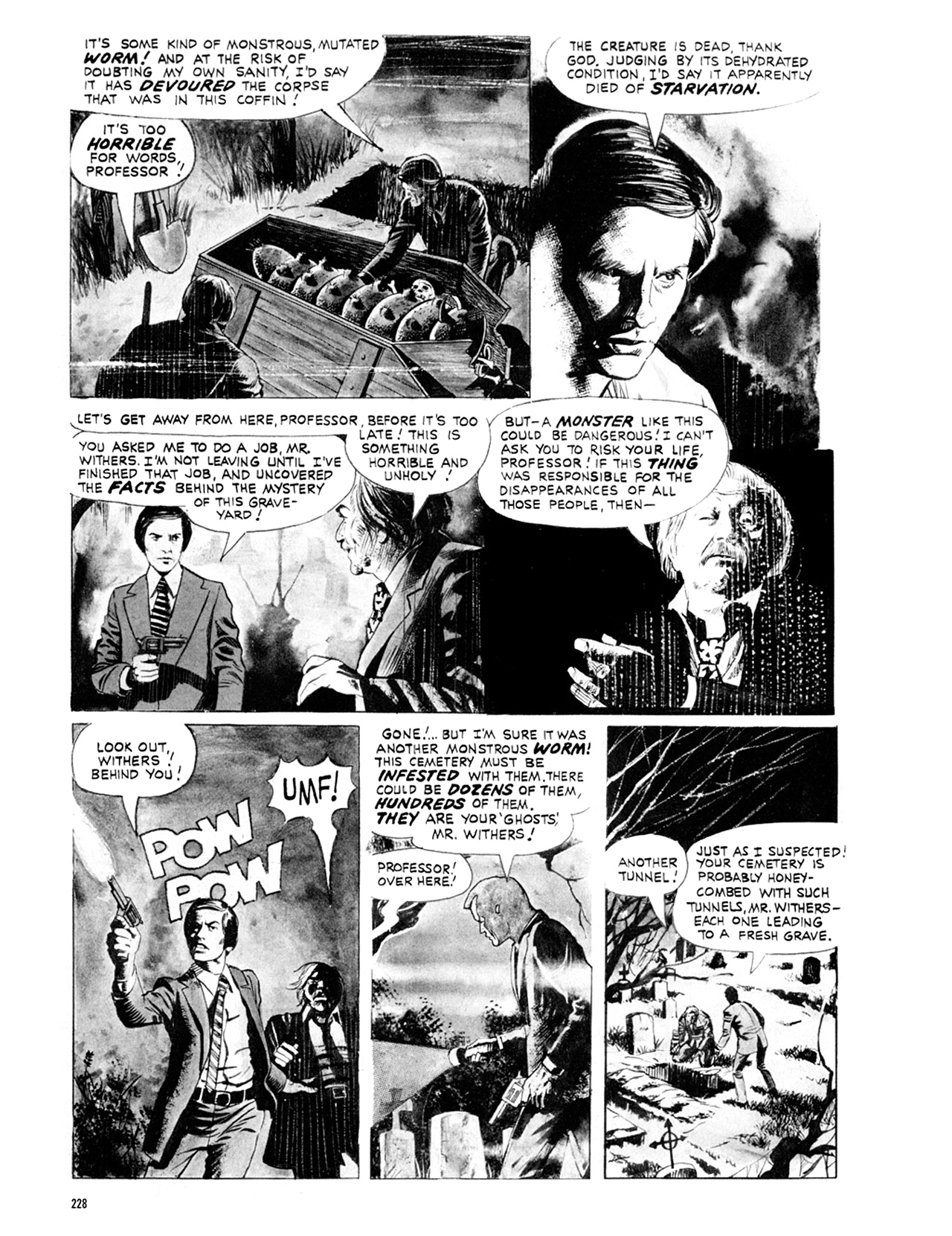Read online Eerie Archives comic -  Issue # TPB 9 - 229