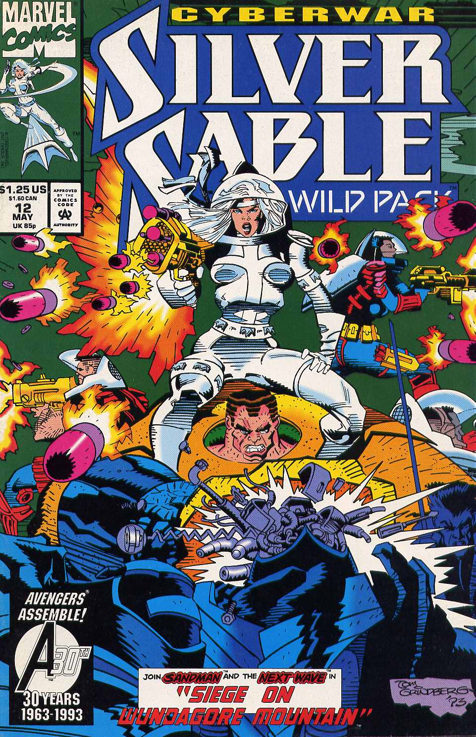 Read online Silver Sable and the Wild Pack comic -  Issue #12 - 1