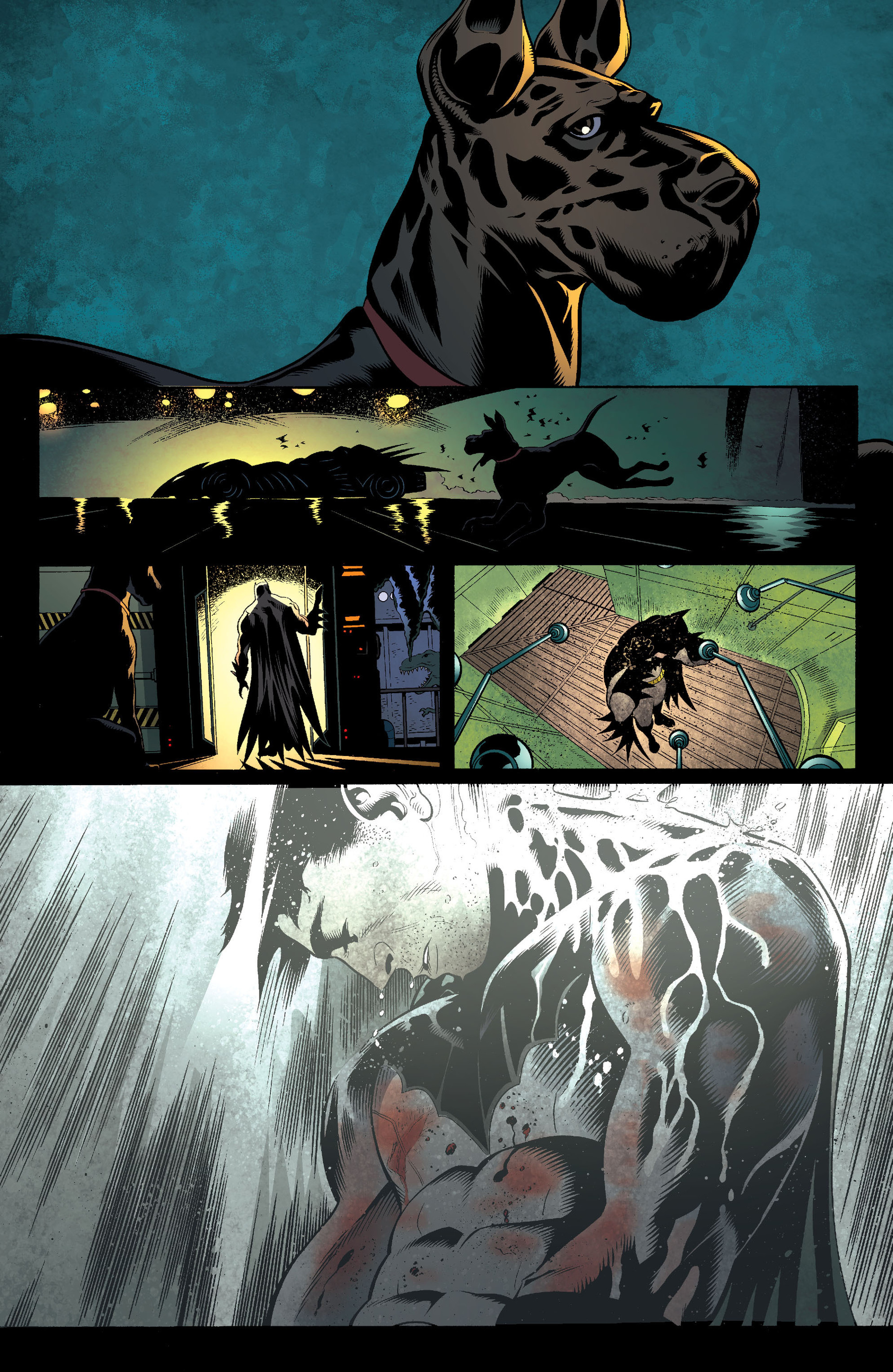 Read online Batman and Robin (2011) comic -  Issue #18 - 16