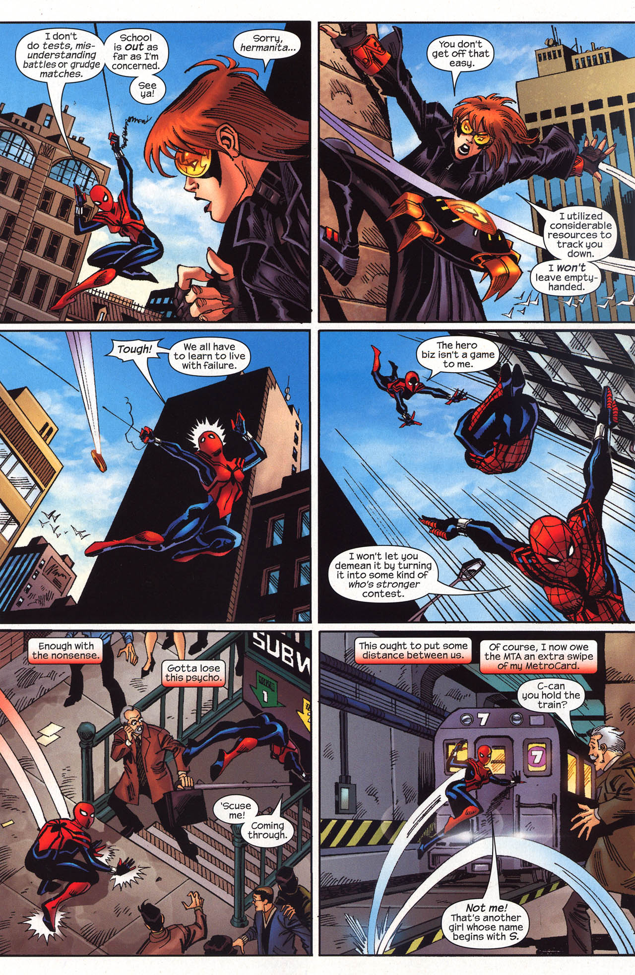 Read online Amazing Spider-Girl comic -  Issue #19 - 25