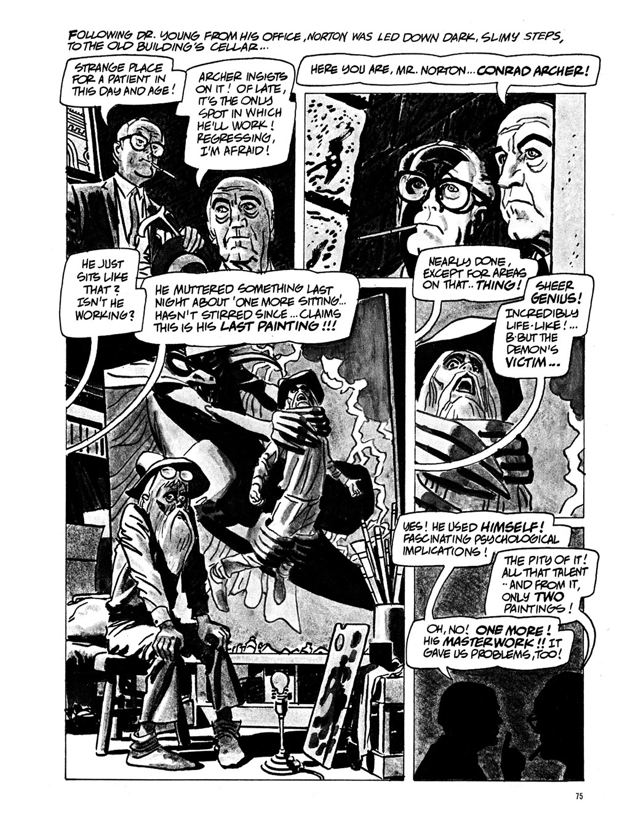 Read online Eerie Archives comic -  Issue # TPB 1 - 76