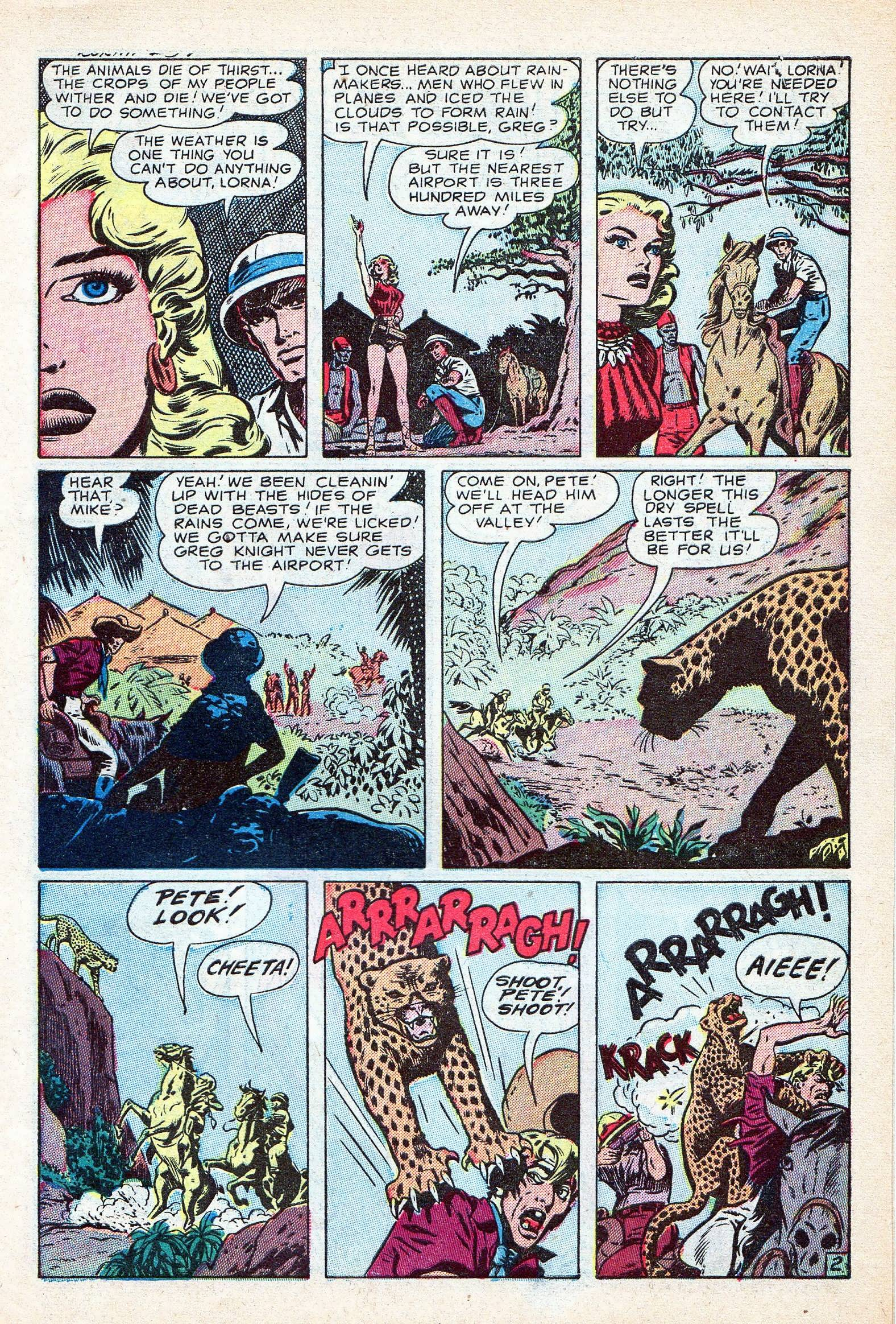 Read online Lorna, The Jungle Queen comic -  Issue #3 - 27