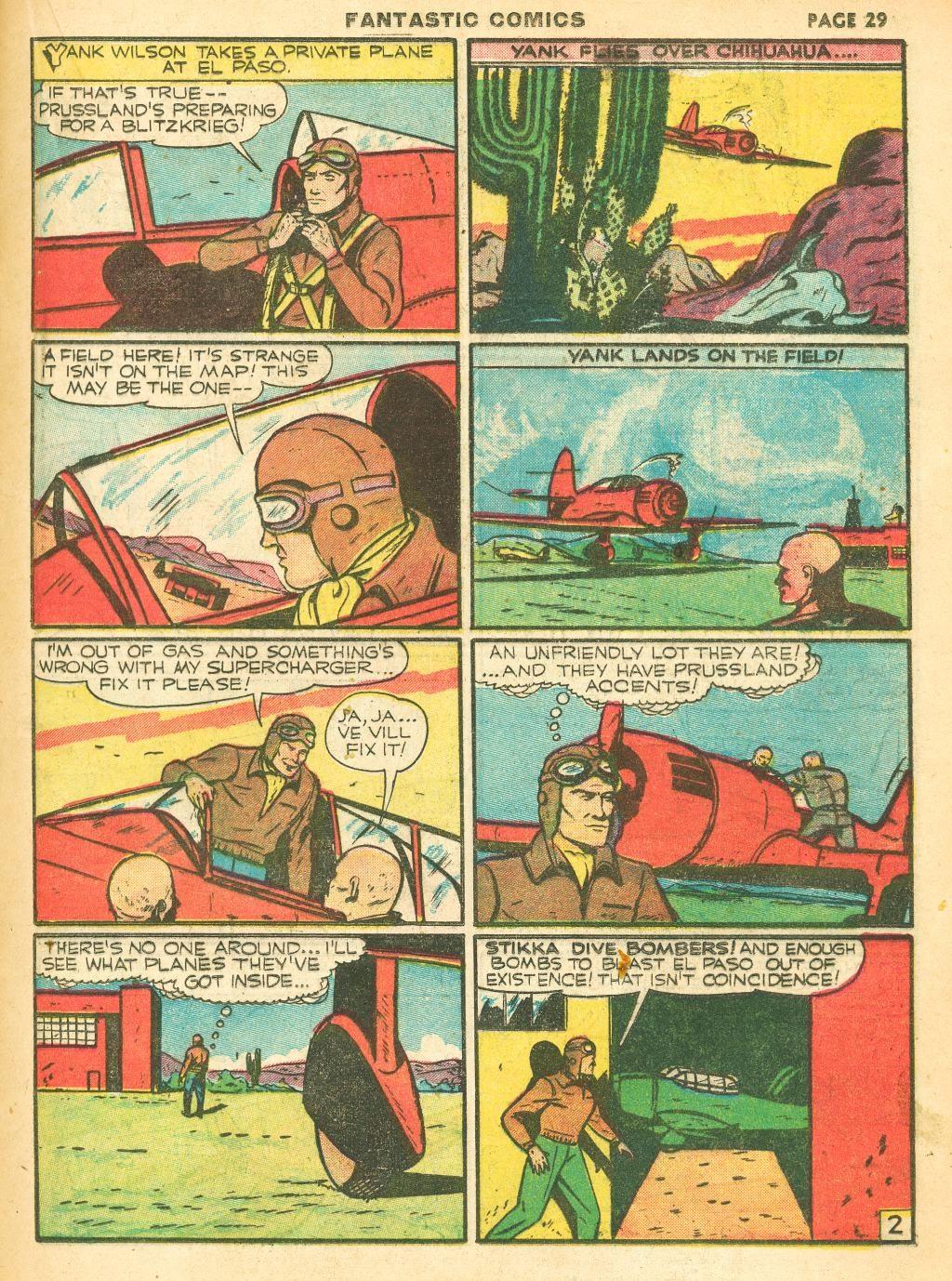 Read online Fantastic Comics comic -  Issue #12 - 31