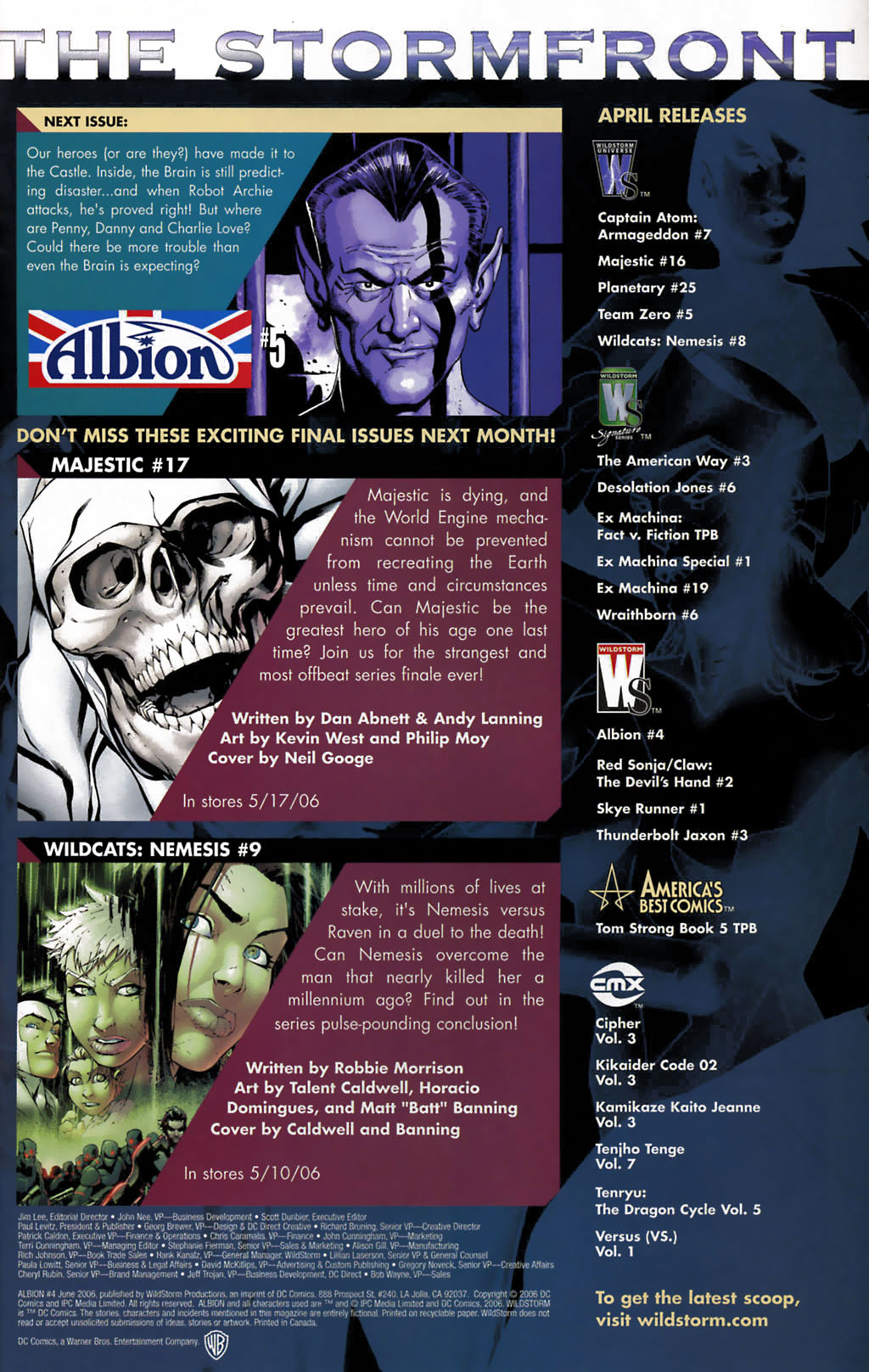 Read online Albion comic -  Issue #4 - 24