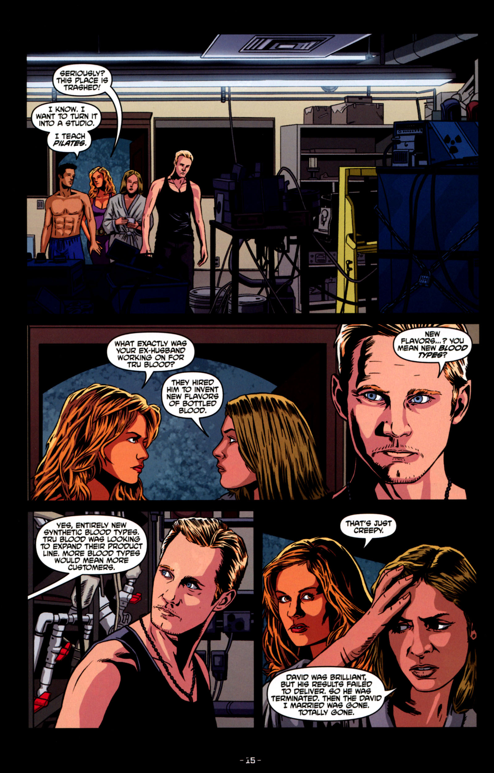 Read online True Blood: Tainted Love comic -  Issue #4 - 17