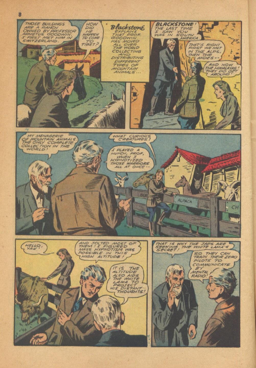 Read online Super-Magician Comics comic -  Issue #13 - 8