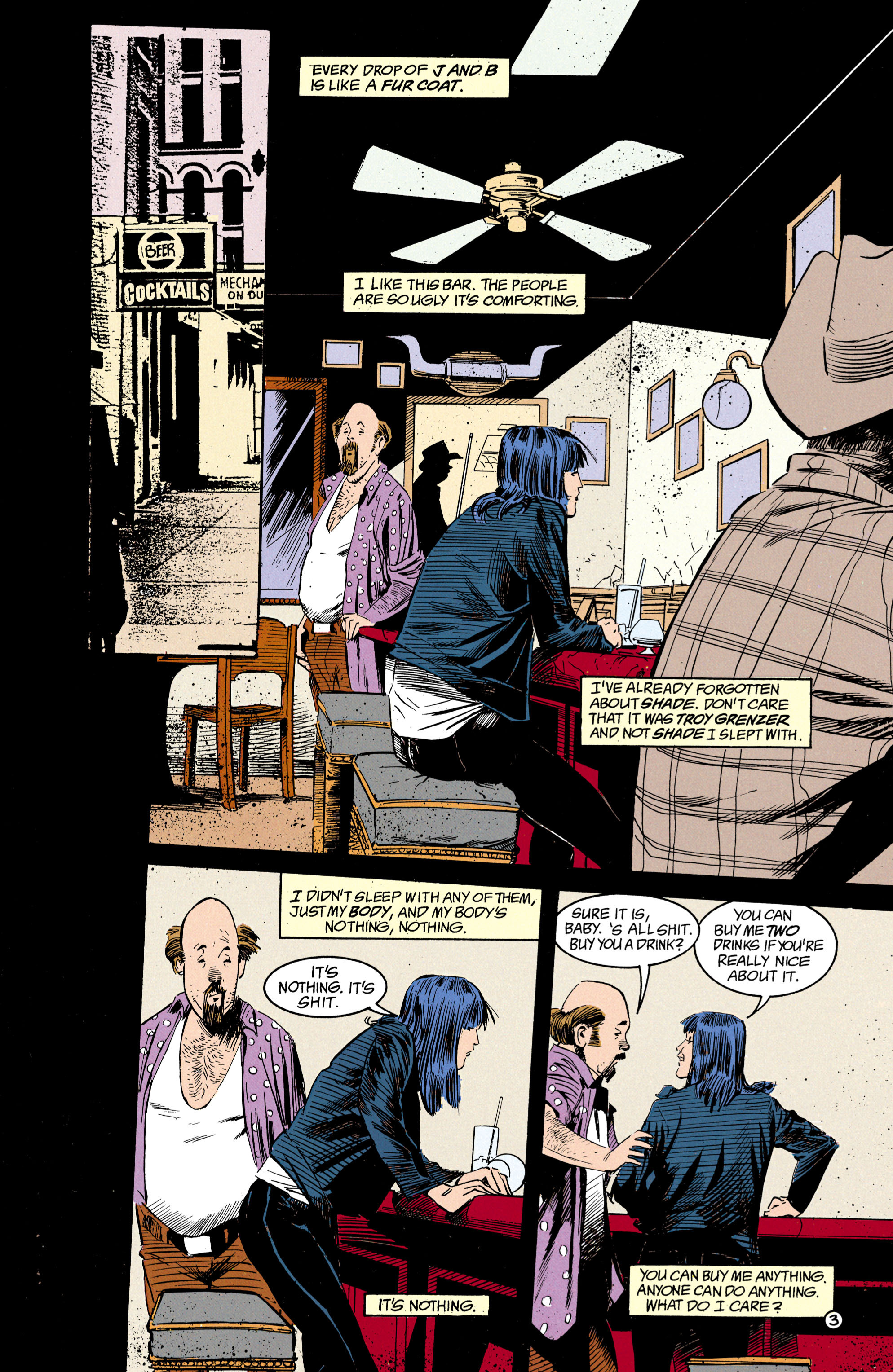Read online Shade, the Changing Man comic -  Issue #17 - 4