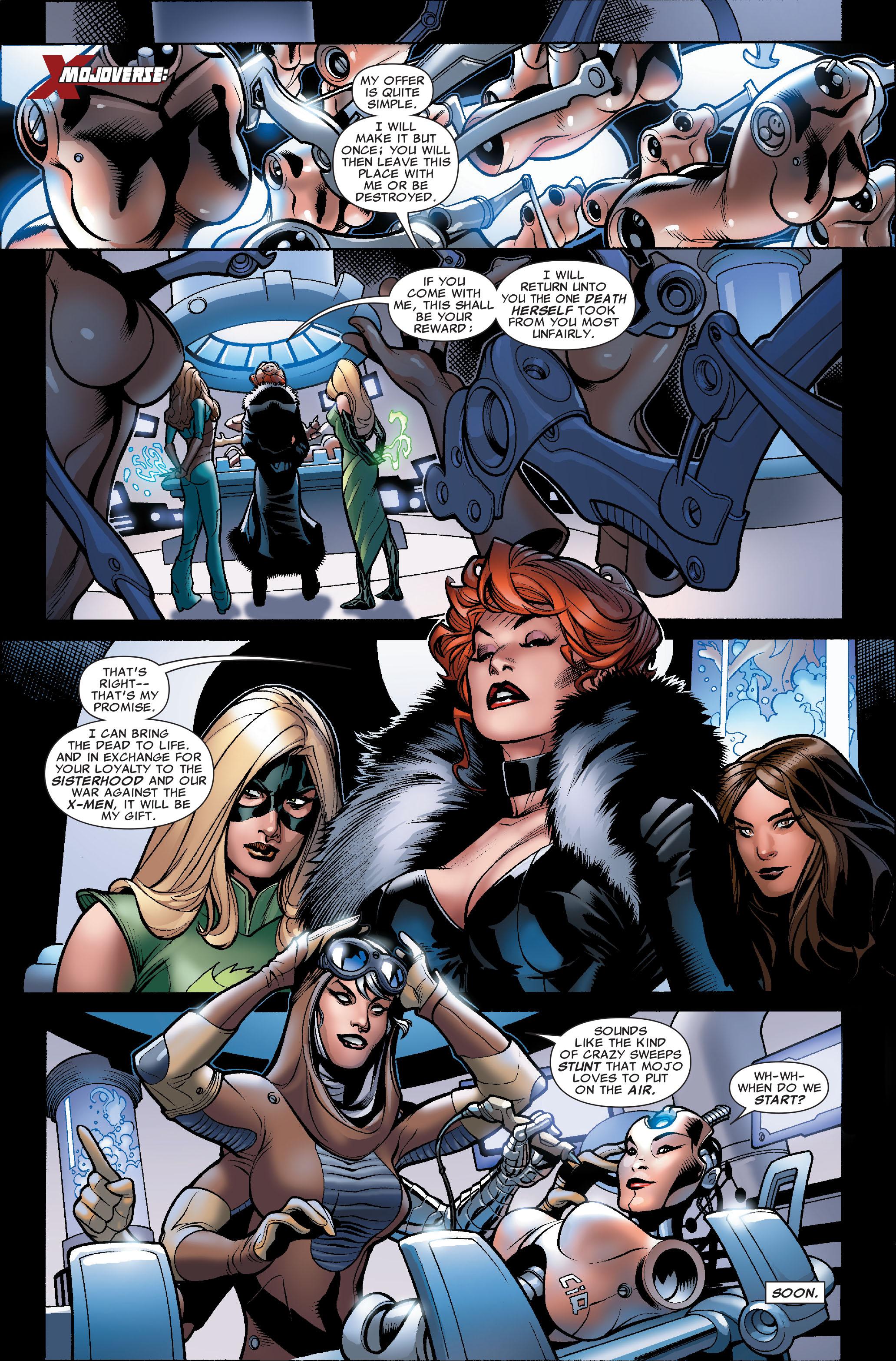 Read online Uncanny X-Men (1963) comic -  Issue #504 - 3