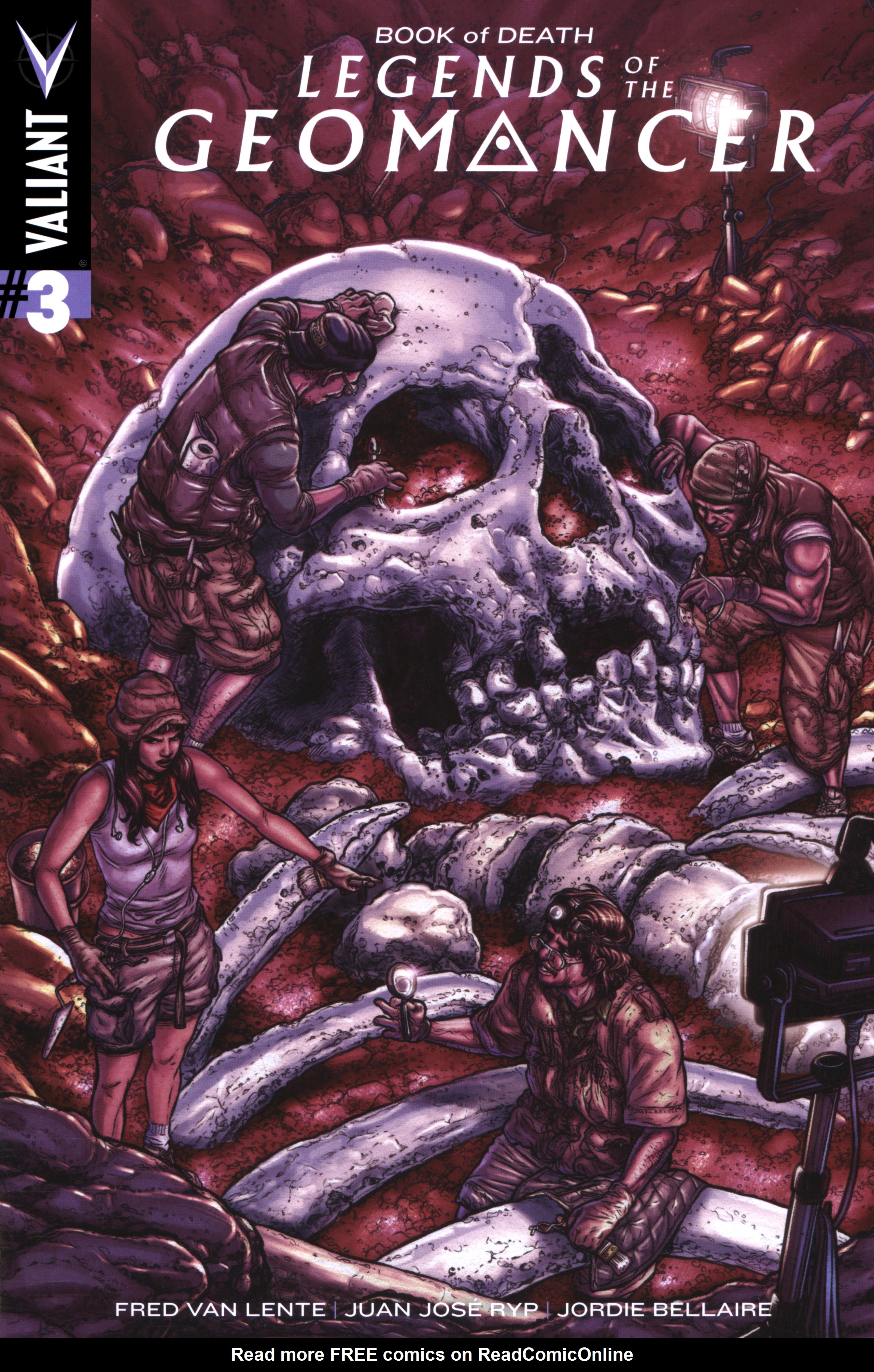 Book of Death Legends of the Geomancer Issue 3