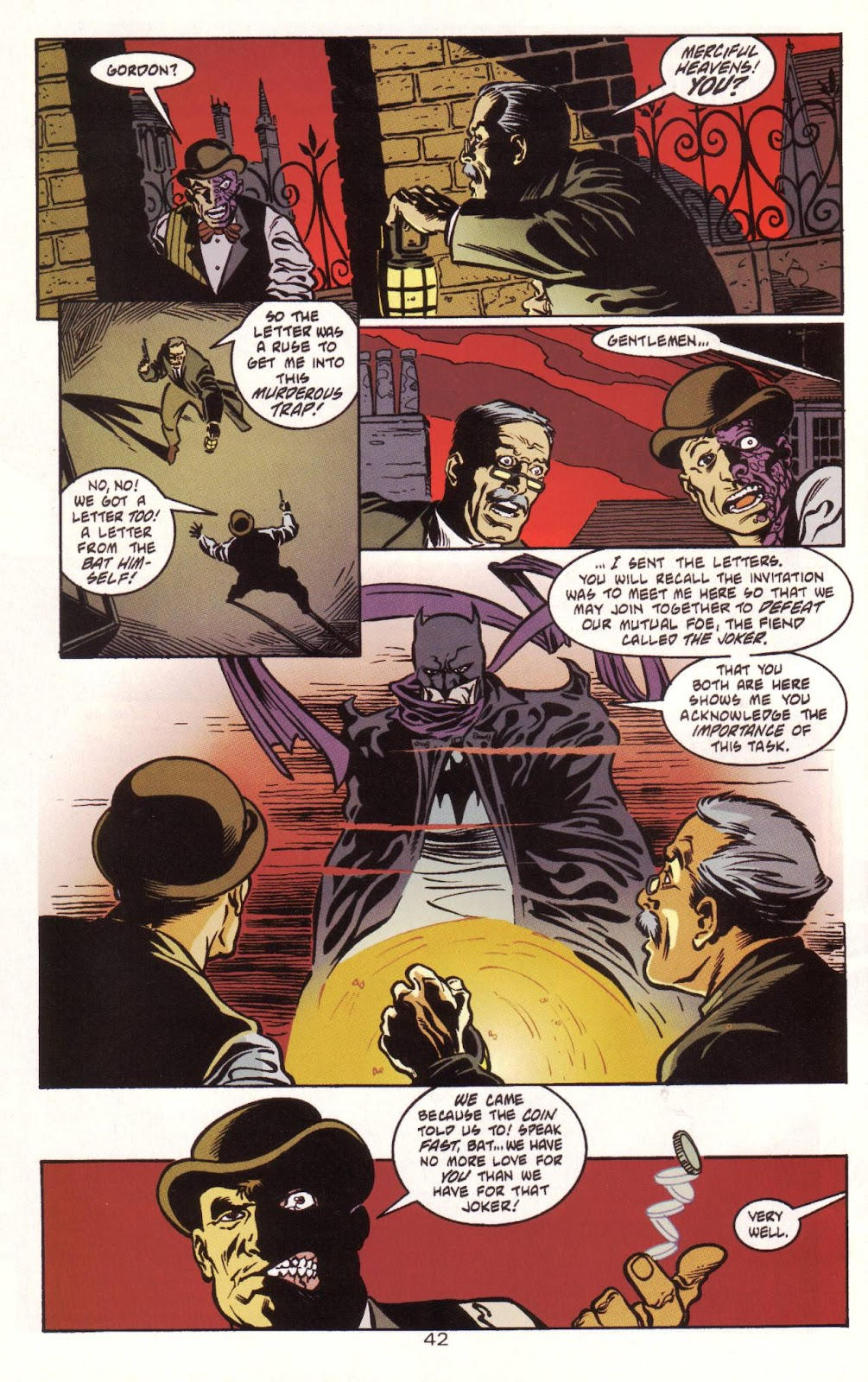 Batman: Two Faces issue Full - Page 43