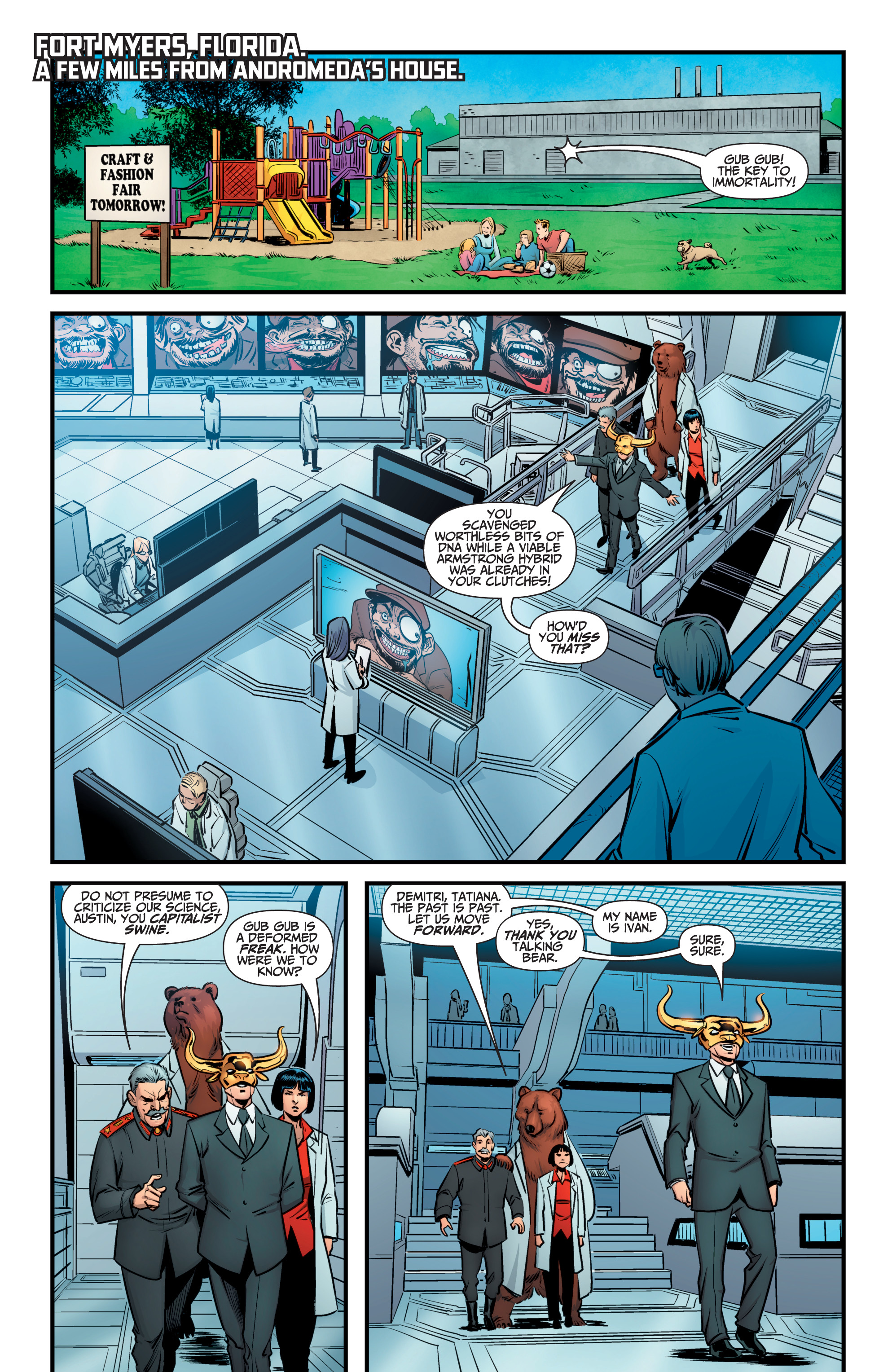 Read online A&A: The Adventures of Archer & Armstrong comic -  Issue #9 - 9