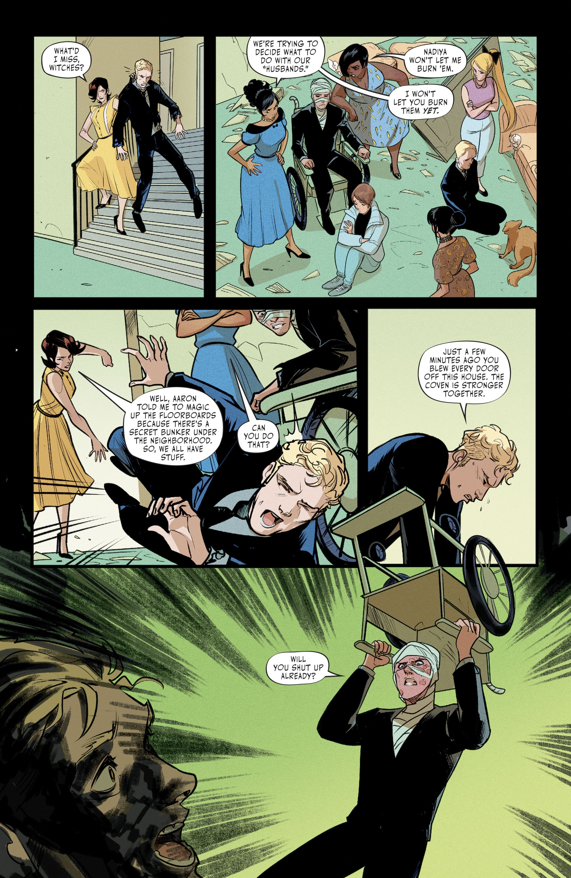 Hex Wives #6 #6 - English 12