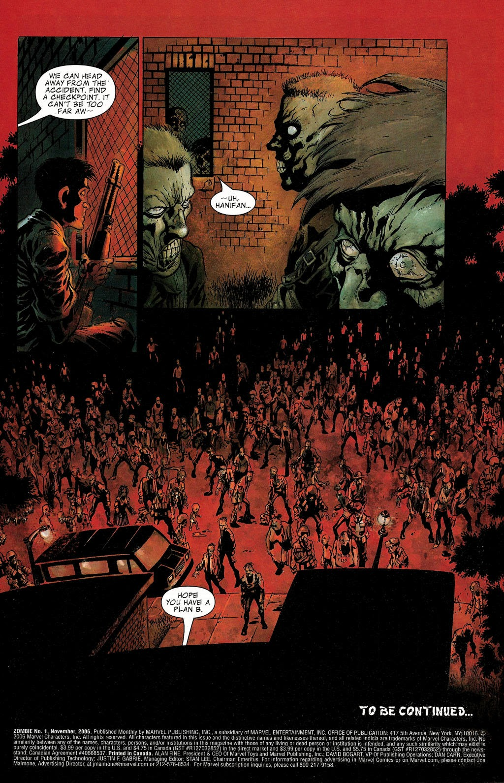 Read online Zombie (2006) comic -  Issue #1 - 23