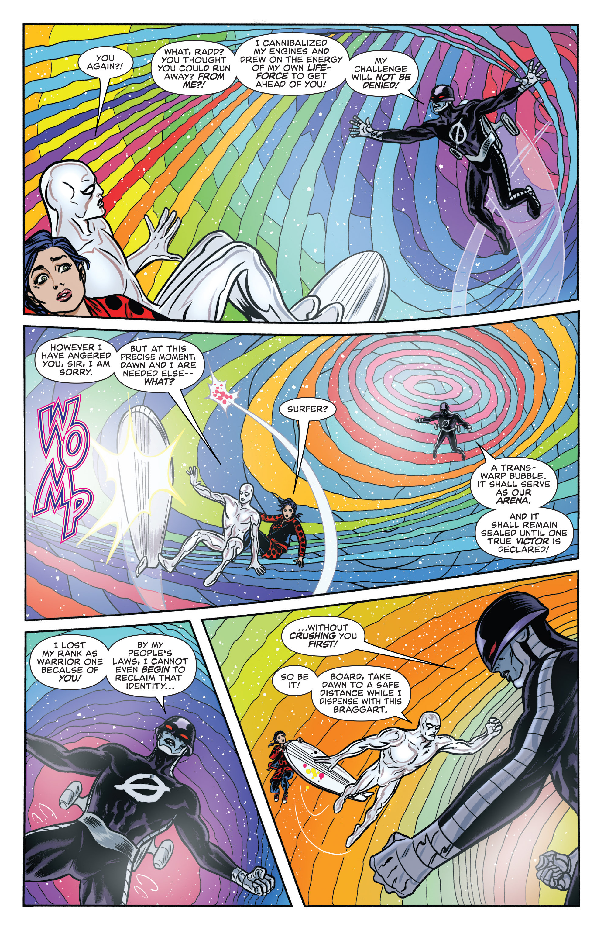 Read online Silver Surfer (2016) comic -  Issue #11 - 11