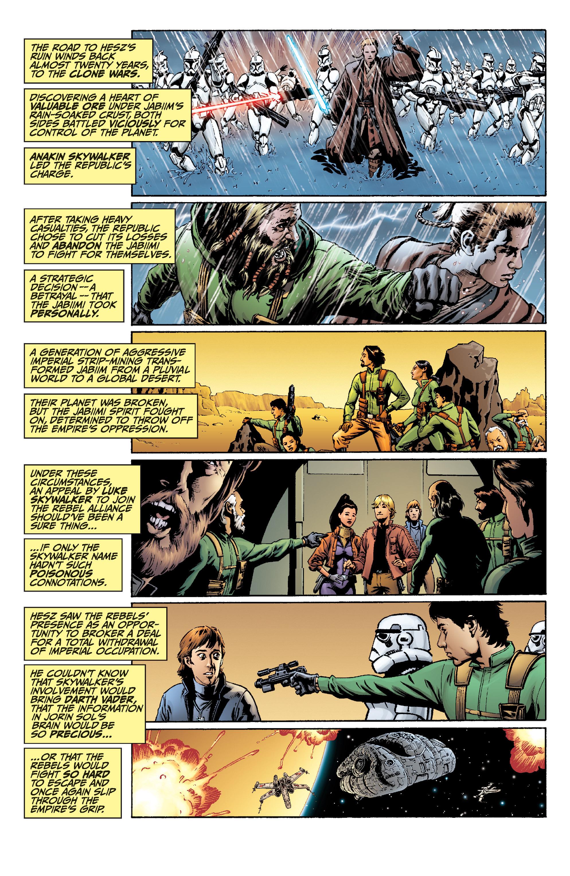 Read online Star Wars Omnibus comic -  Issue # Vol. 22 - 317