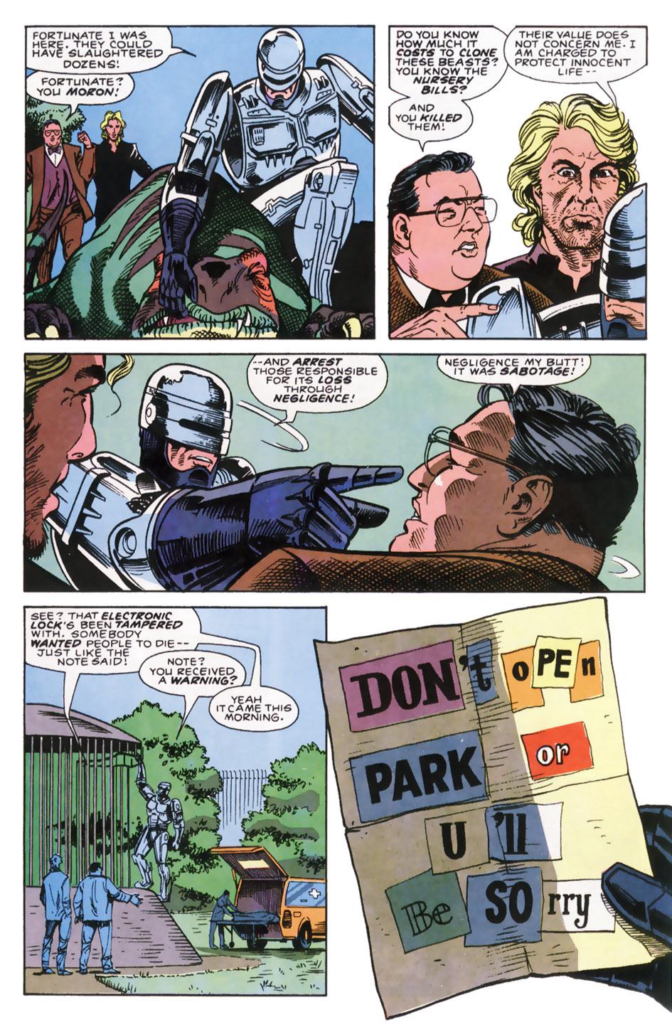 Read online Robocop (1990) comic -  Issue #7 - 6
