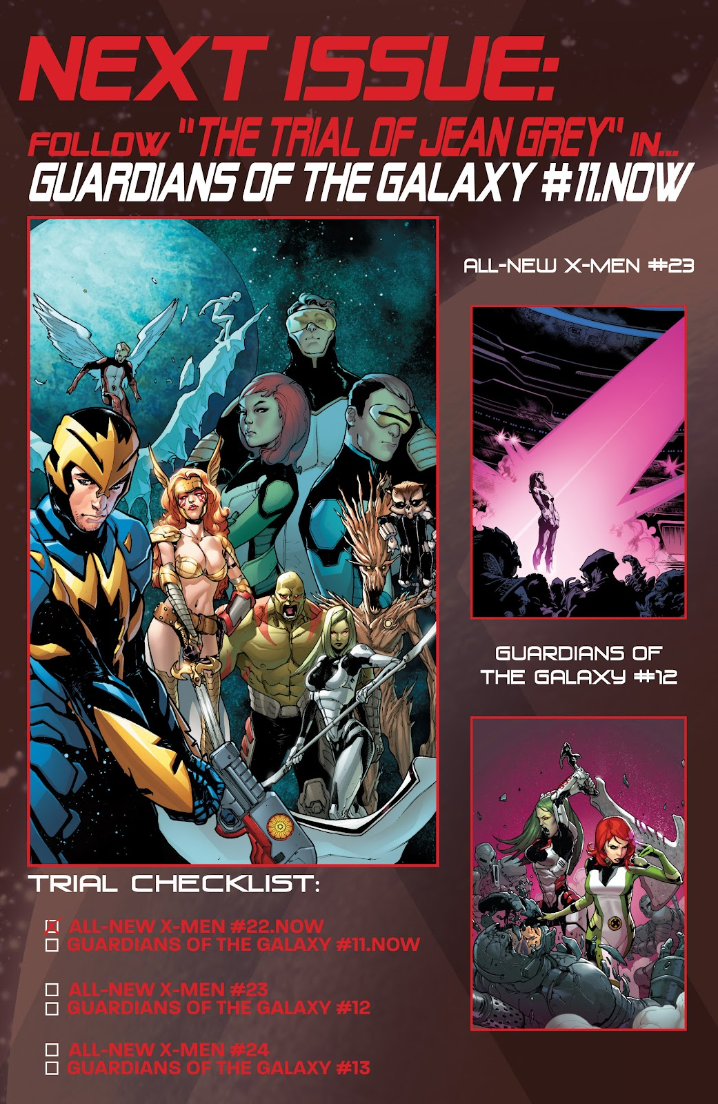 Guardians of the Galaxy/All-New X-Men: The Trial of Jean Grey issue TPB - Page 22