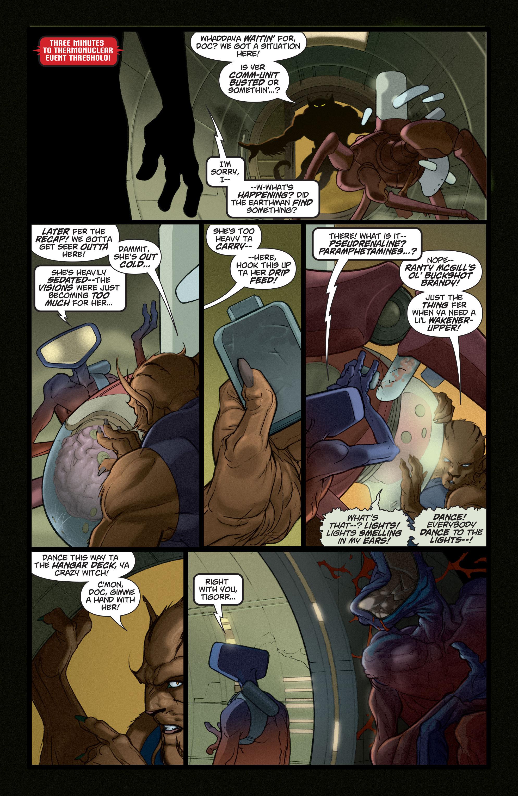 Read online Adam Strange (2004) comic -  Issue #5 - 11