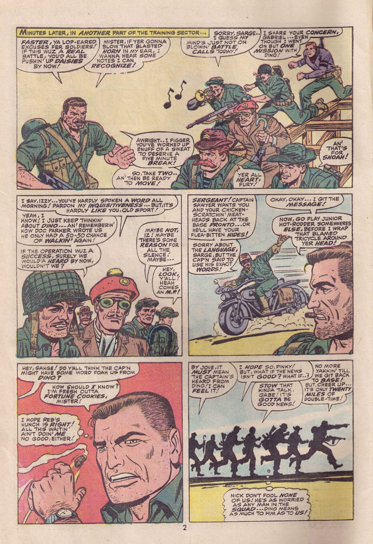 Read online Sgt. Fury comic -  Issue #113 - 4