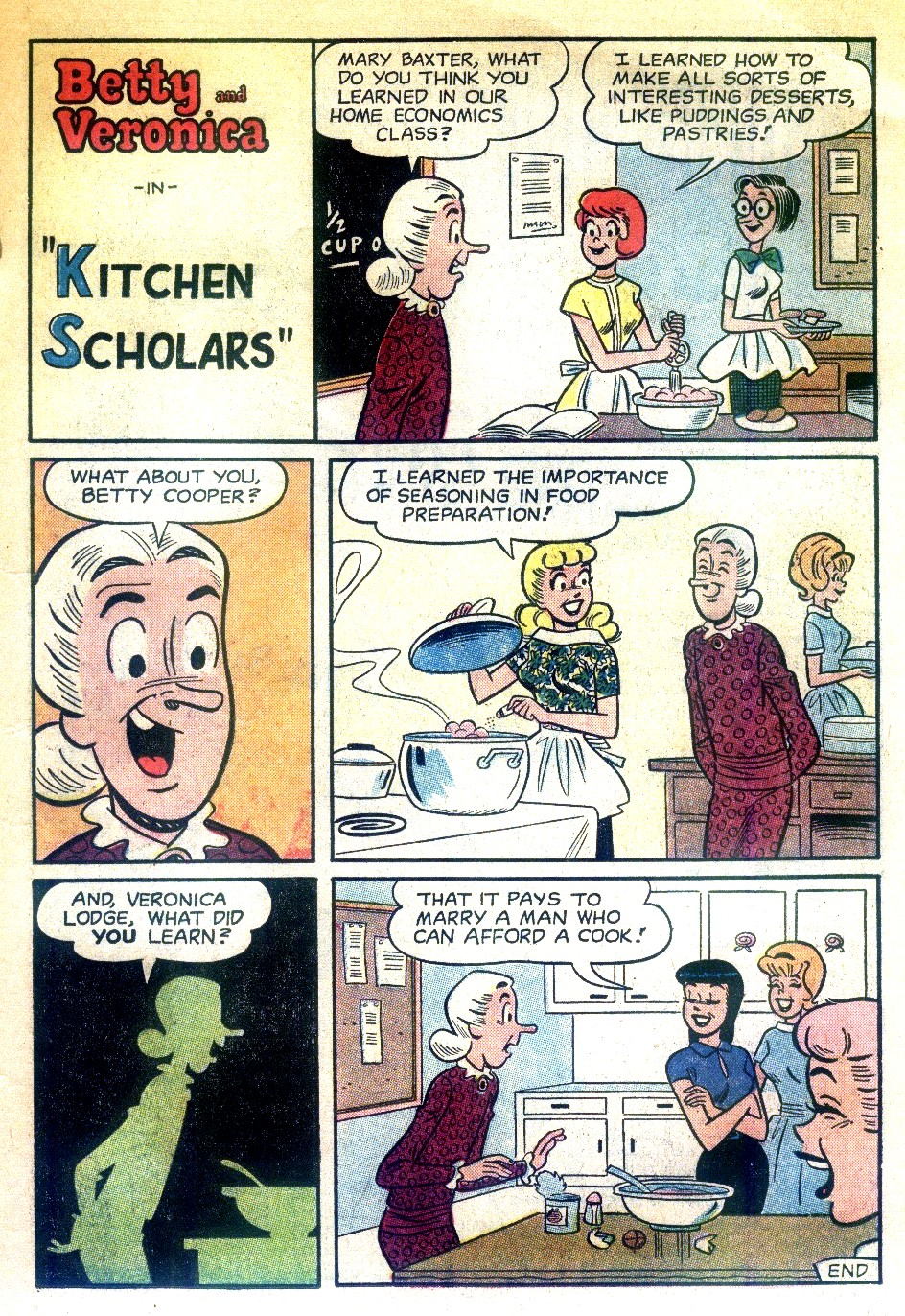 Read online Archie's Girls Betty and Veronica comic -  Issue #74 - 11