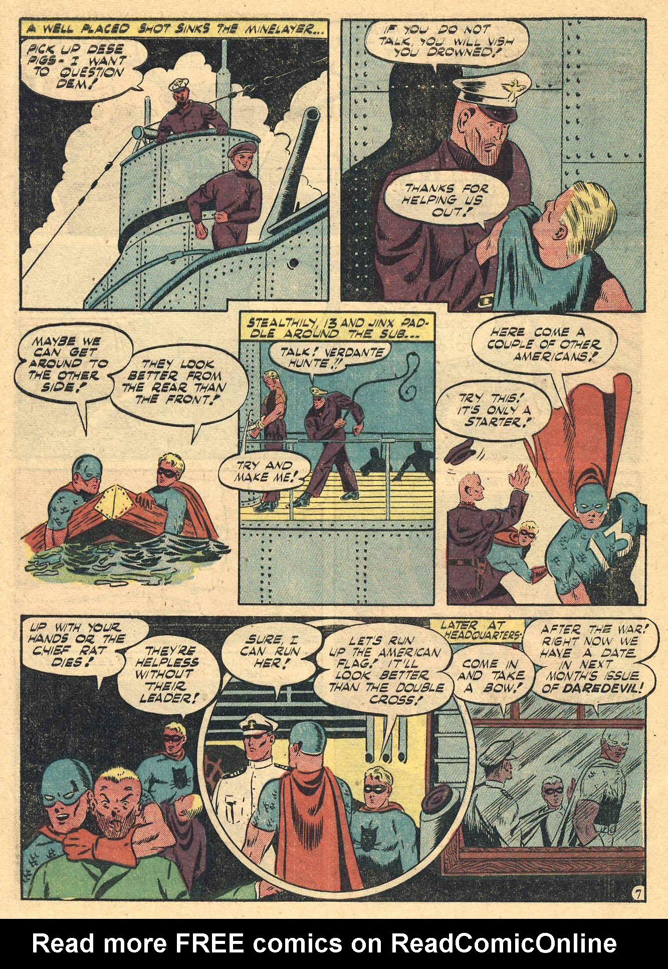 Daredevil (1941) issue 16 - Page 50