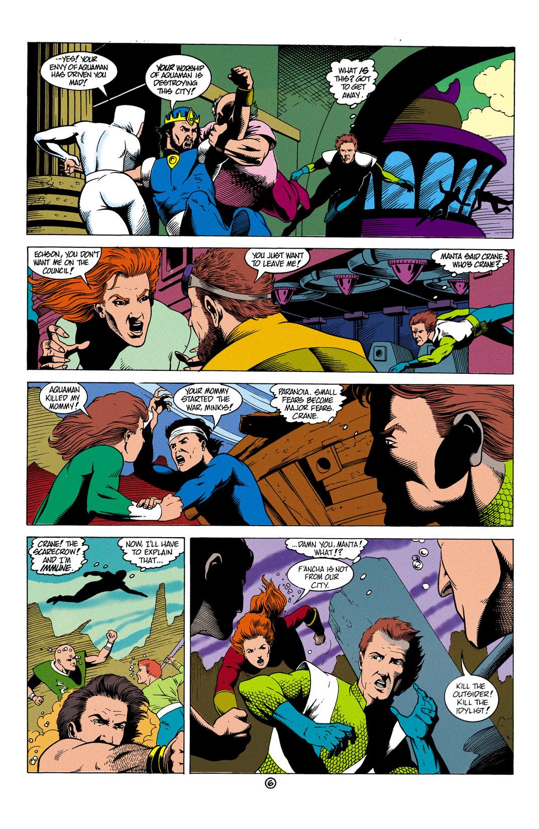 Read online Aquaman (1991) comic -  Issue #6 - 7
