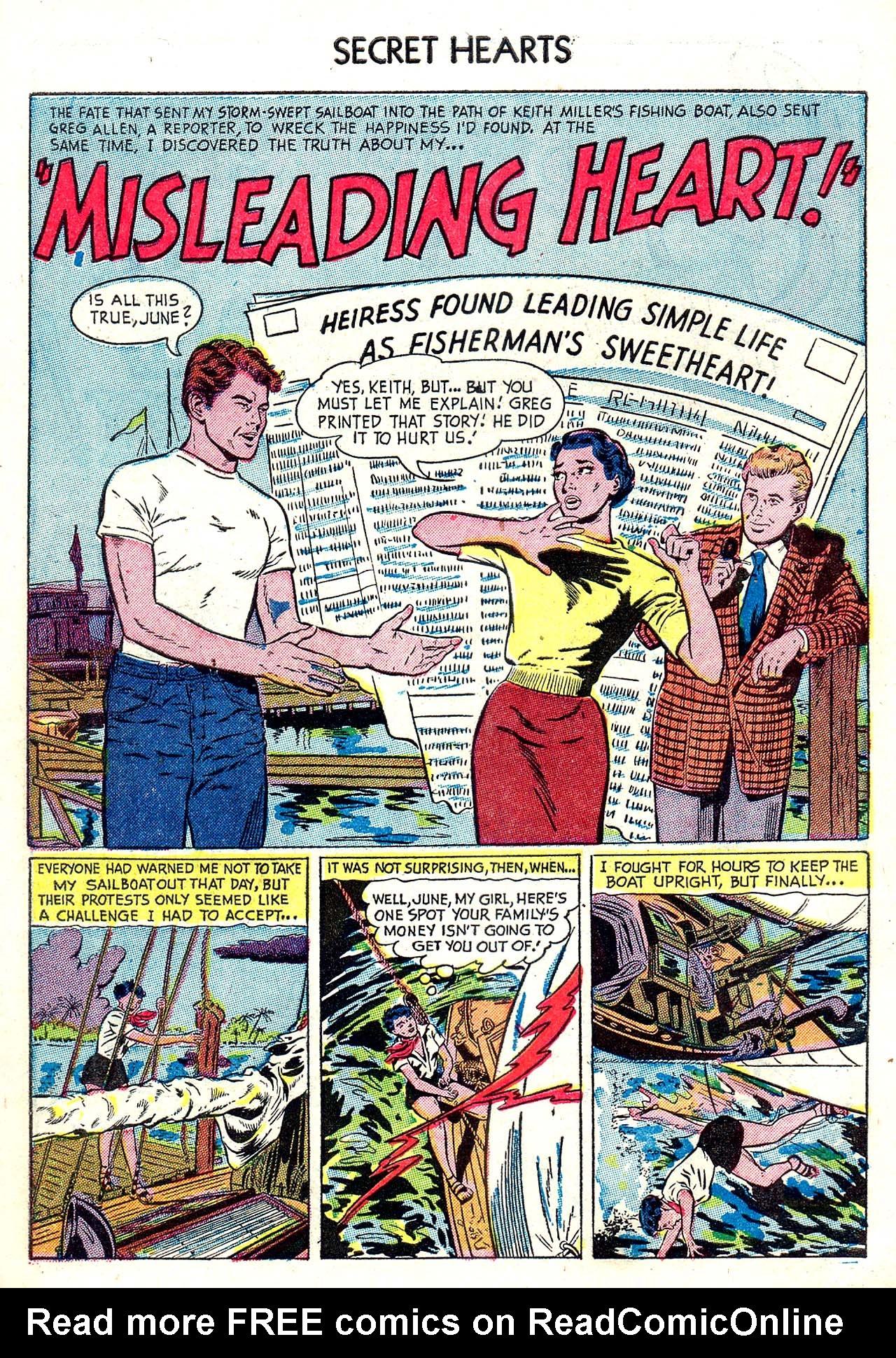 Read online Secret Hearts comic -  Issue #20 - 10