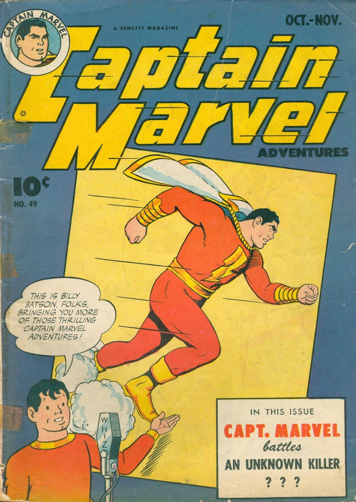 Captain Marvel Adventures 49 Page 1