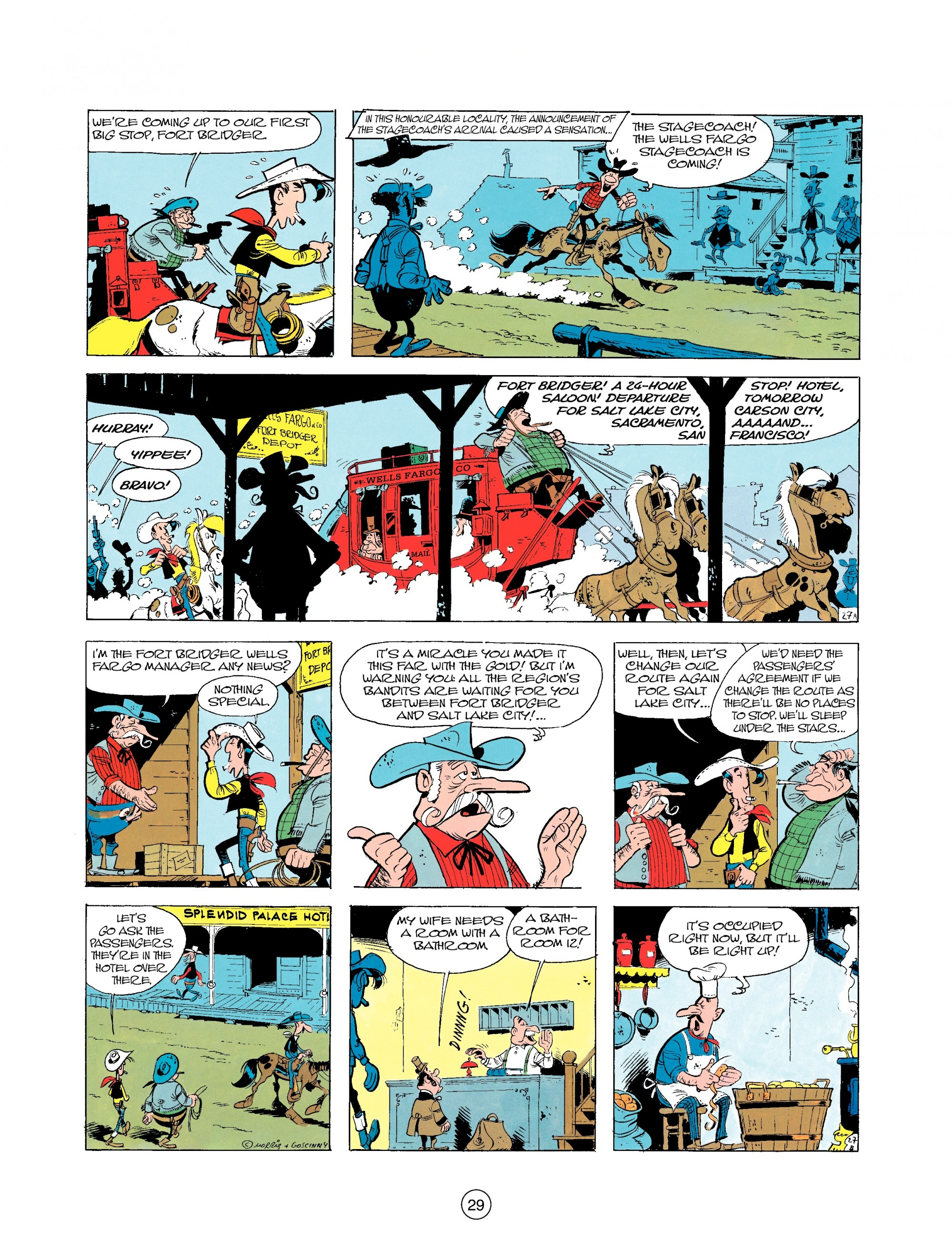 Read online A Lucky Luke Adventure comic -  Issue #25 - 29