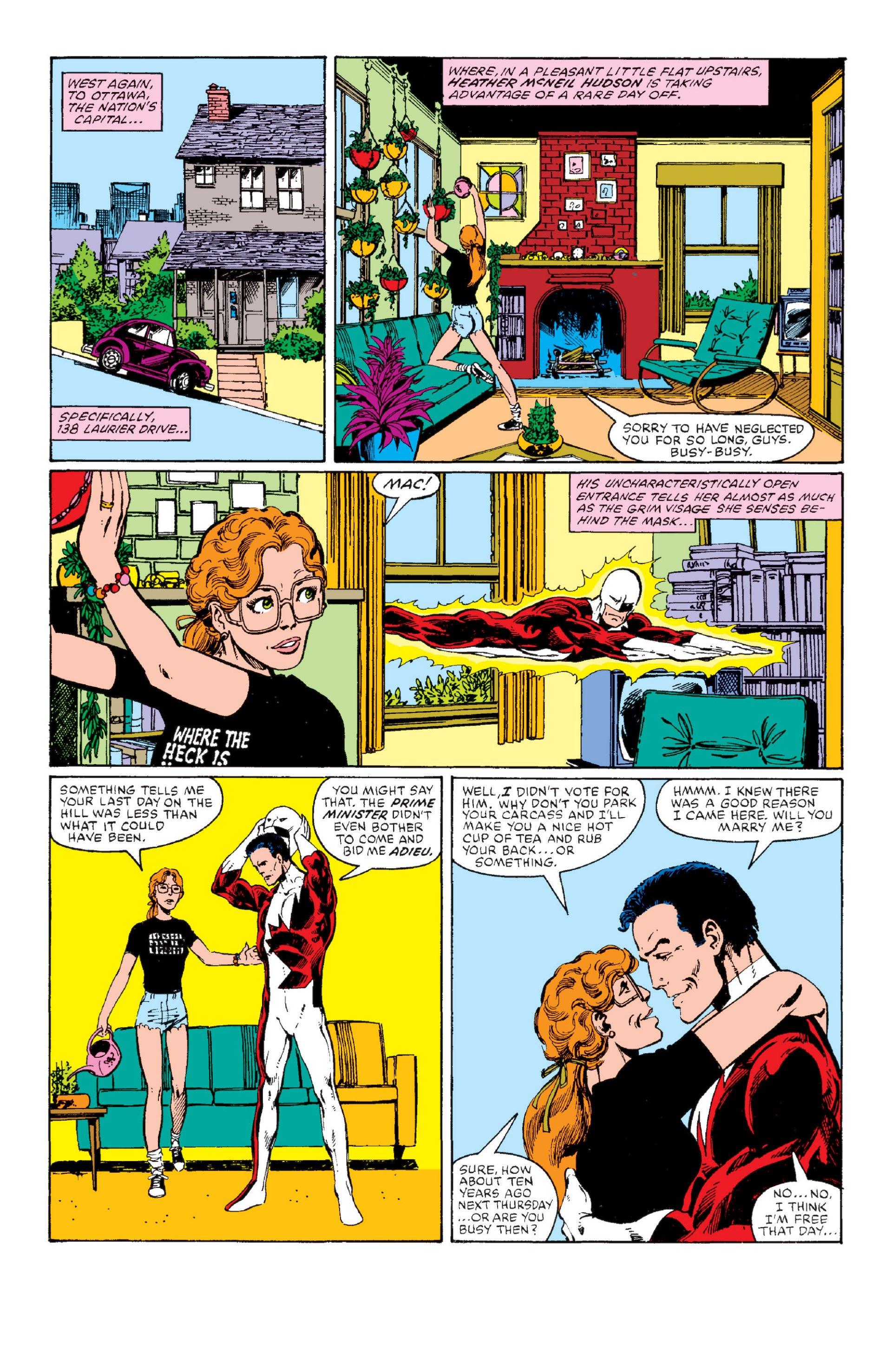 Read online Alpha Flight (1983) comic -  Issue #1 - 13